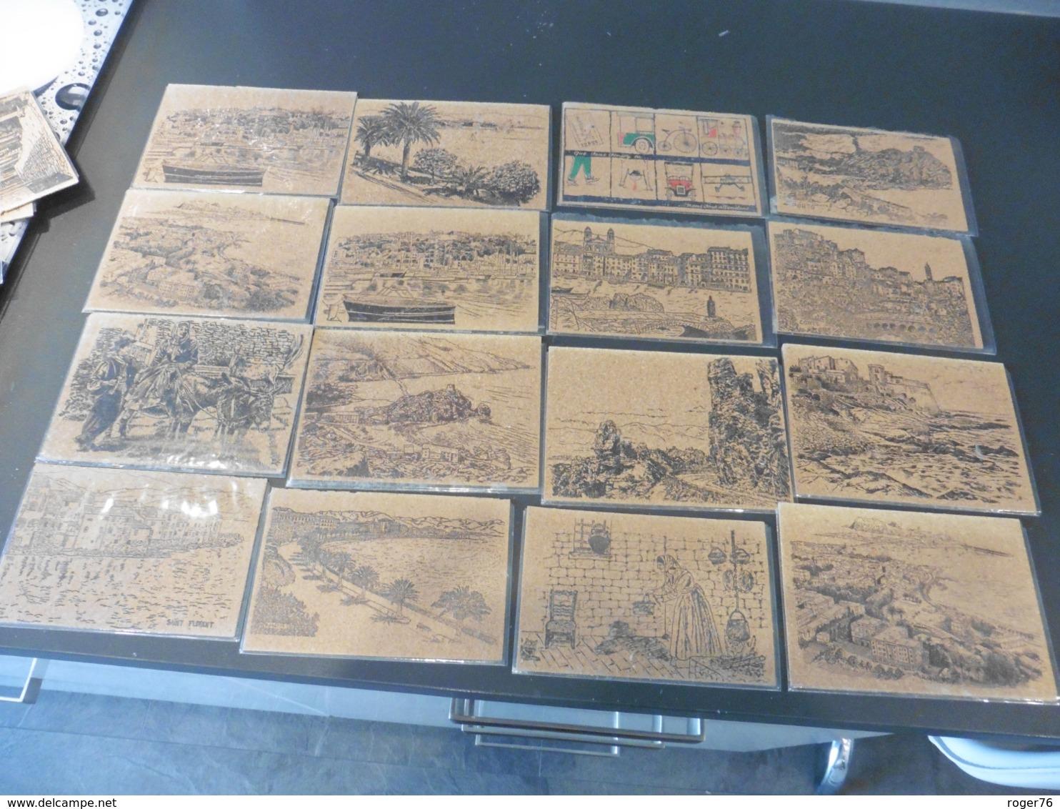LOT  DE   25  CARTES  POSTALES   EN  LIEGE  UR  LA  CORSE - Cartes Postales