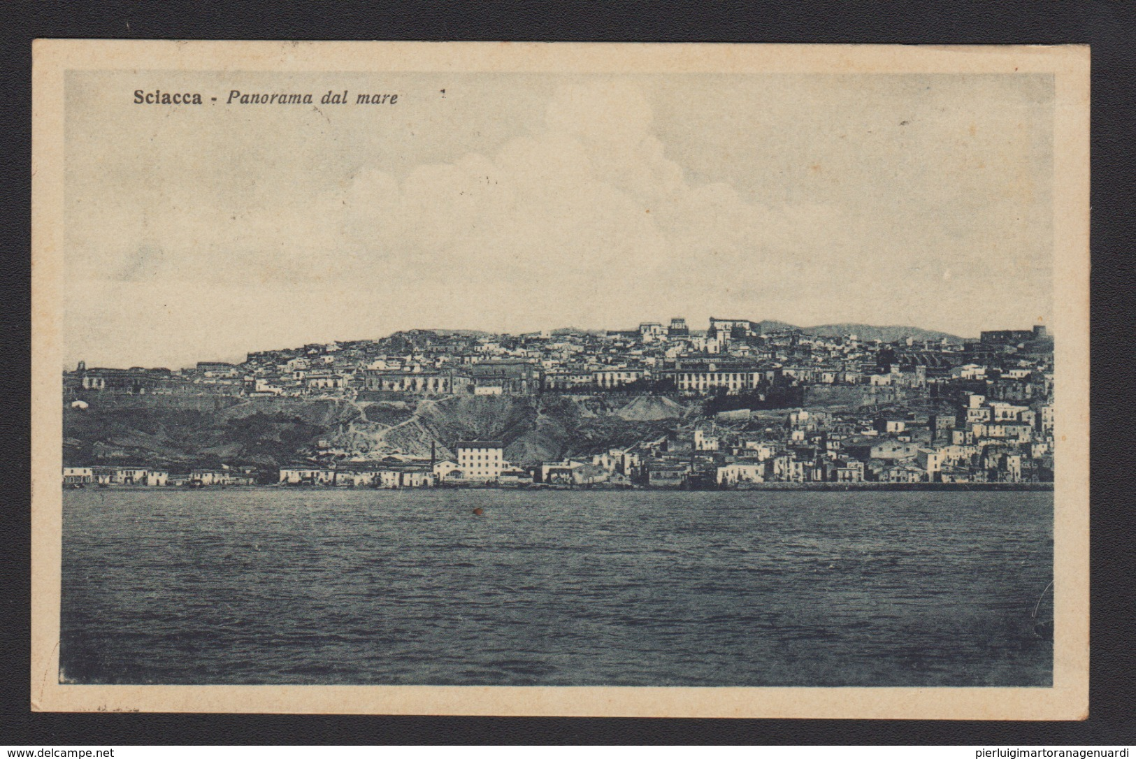 16986 Sciacca - Panorama Dal Mare F - Agrigento