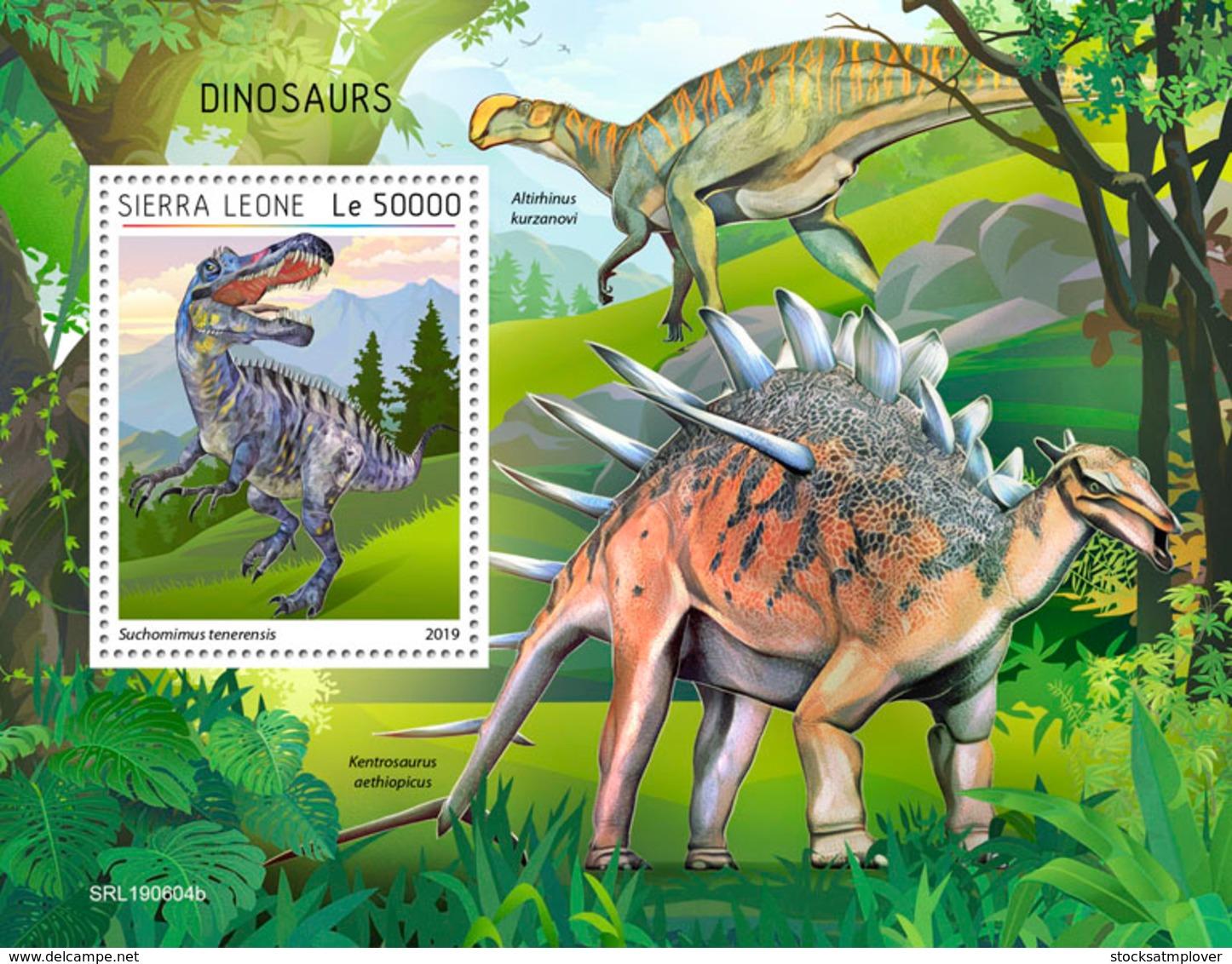 Sierra Leone 2019 Dinosaurs S201908 - Sierra Leone (1961-...)