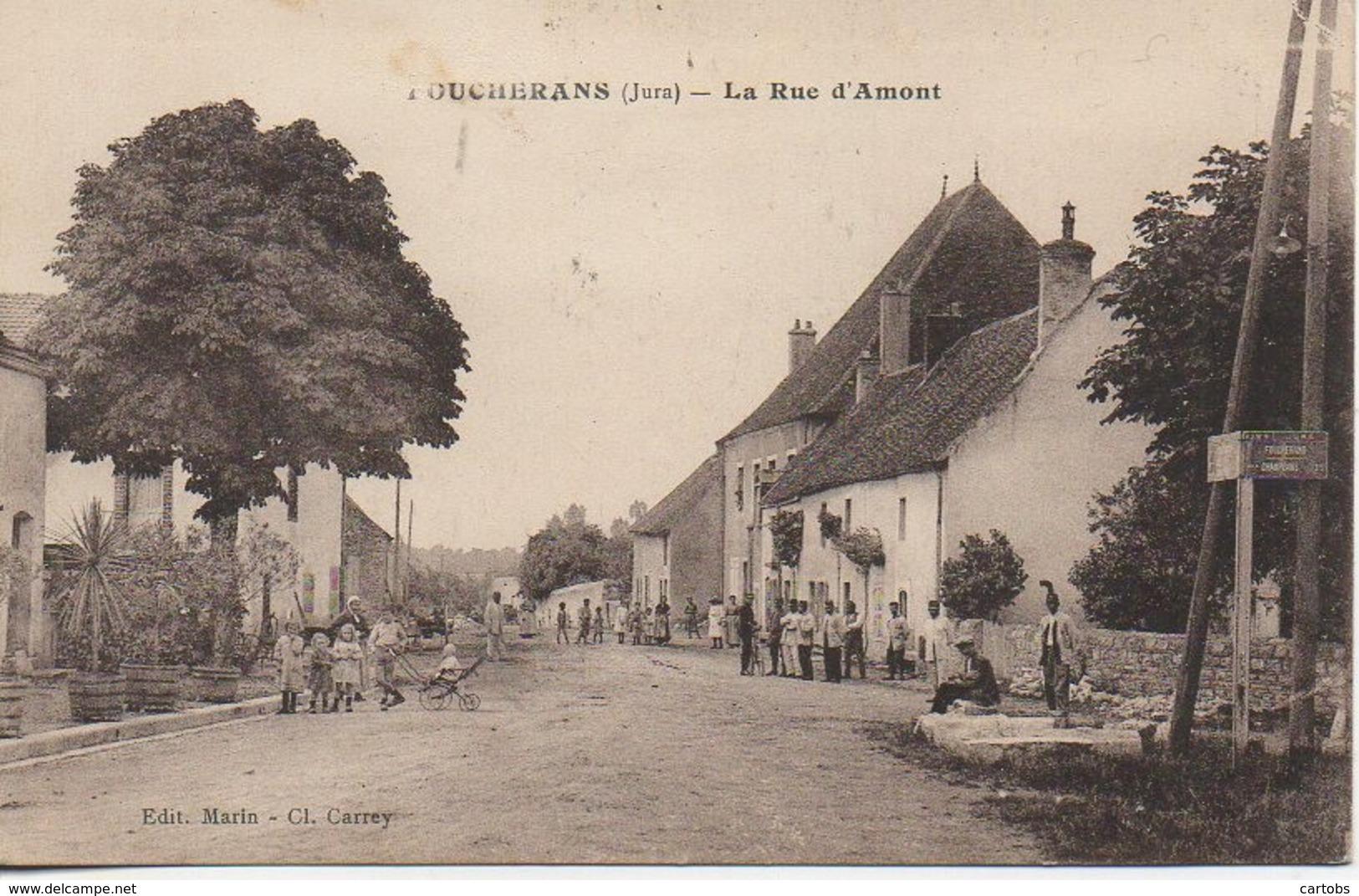 39 FOUCHERANS  La Rue D'Amont - France