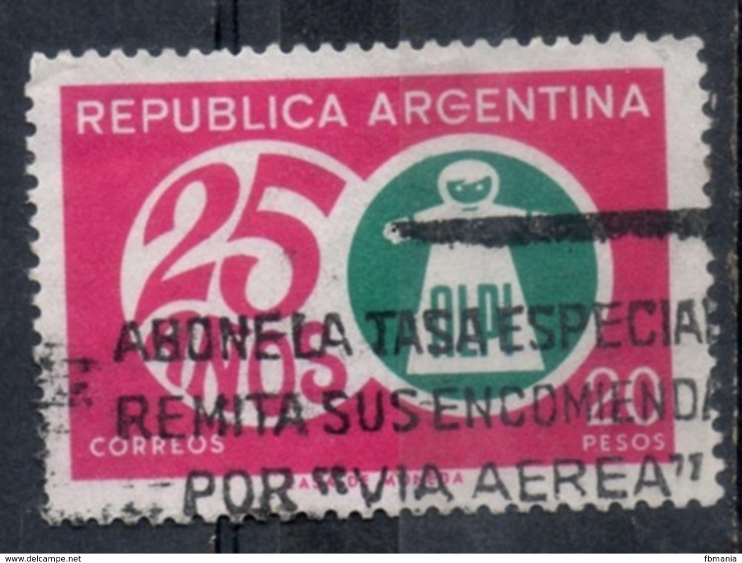 Argentina 1968 - ALPI Associazione Lotta Contro Il Polio Fight Against Polio Association - Argentina