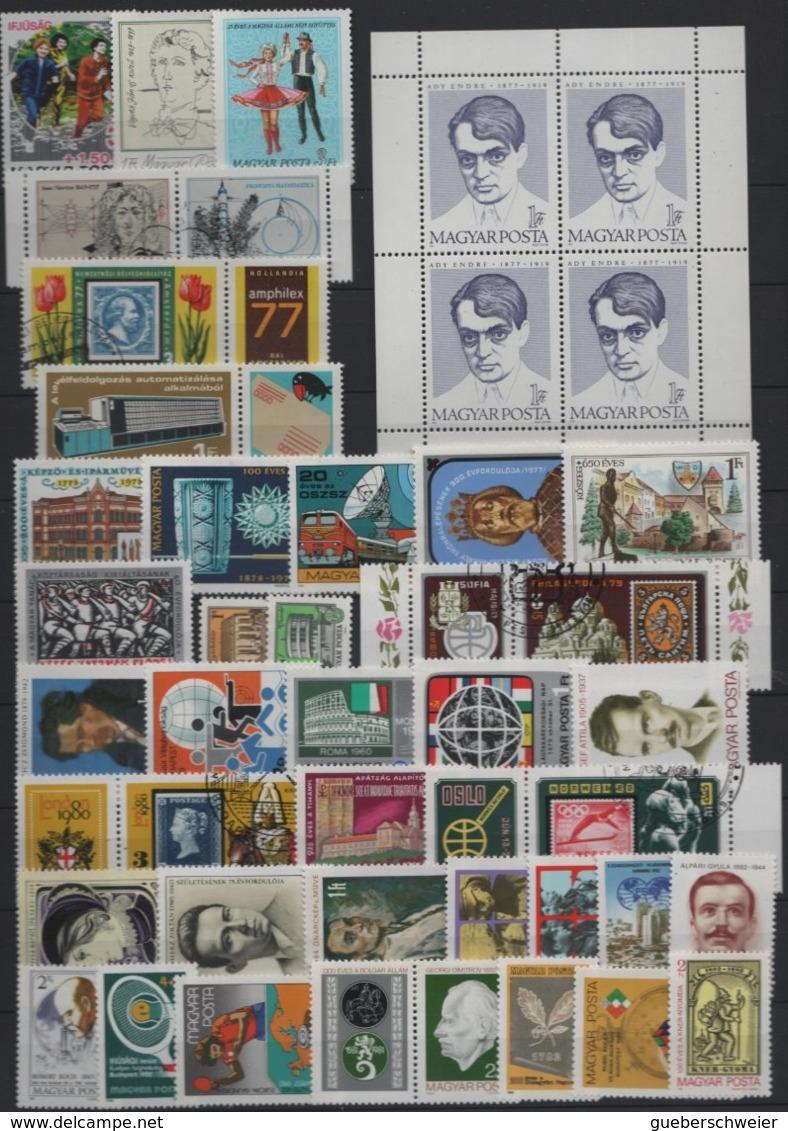 Belle Collection De HONGRIE Neufs**/* Et Obl.  Avec Nombreuses Séries Complètes Forte Cote Dans Album - Collections