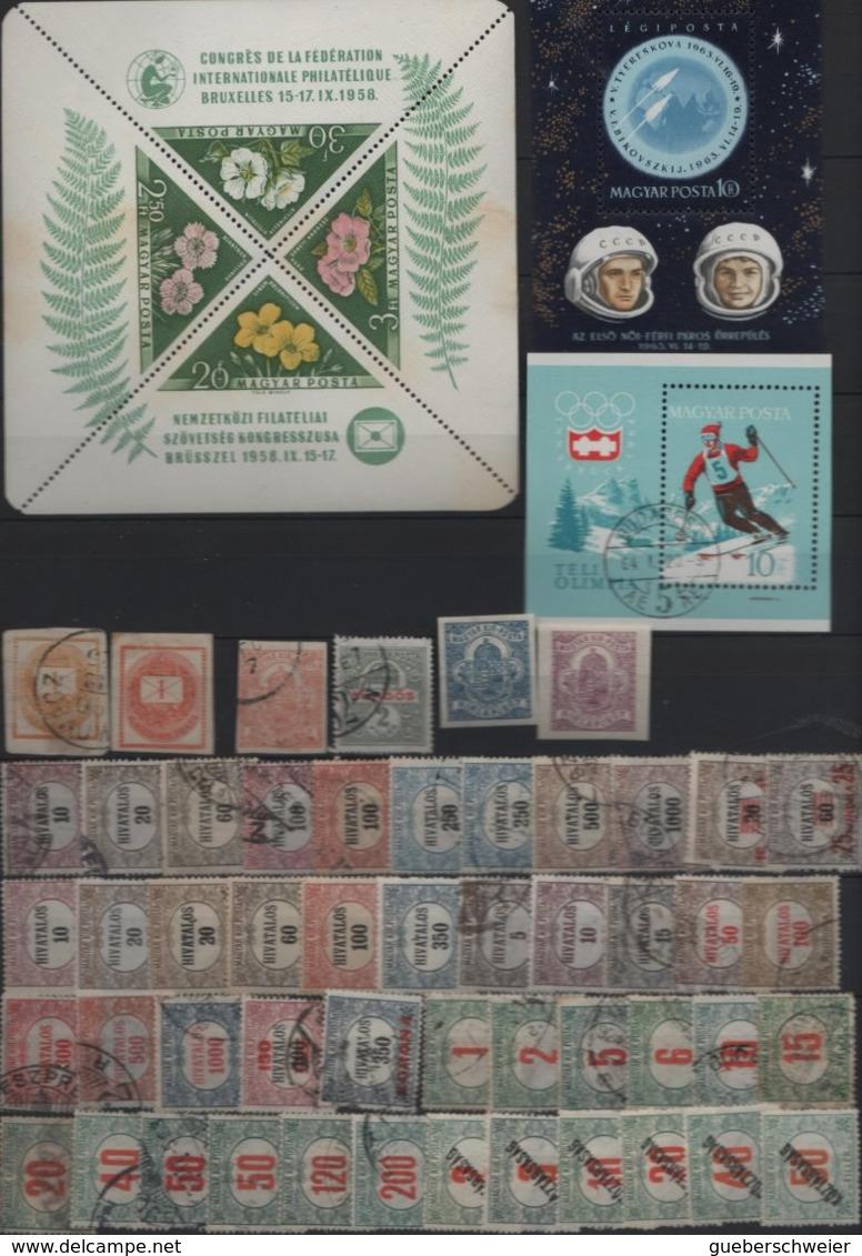 Belle Collection De HONGRIE Neufs**/* Et Obl.  Avec Nombreuses Séries Complètes Forte Cote Dans Album - Hongrie