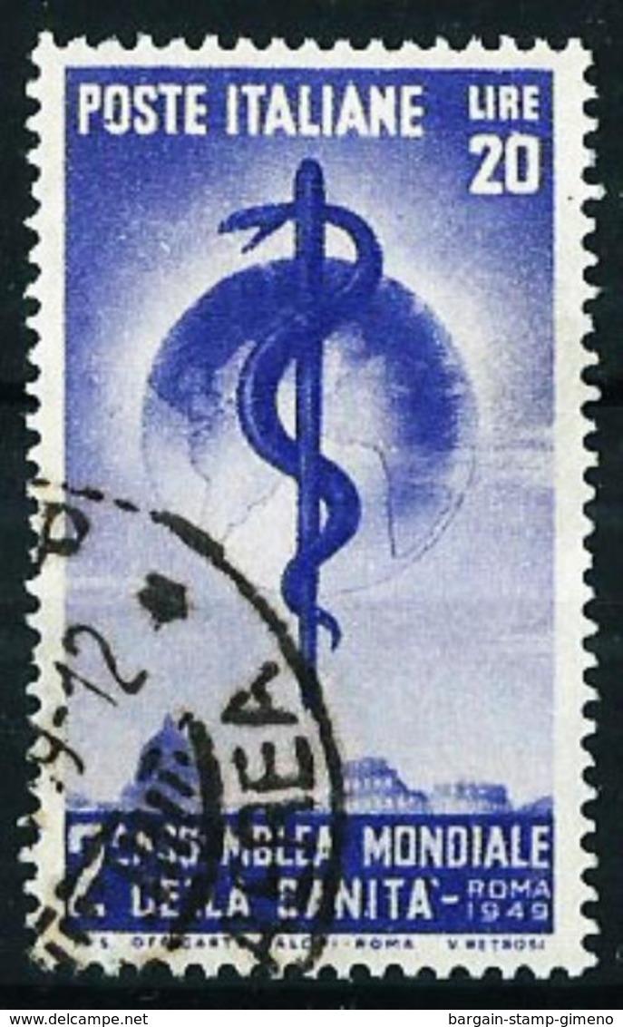 Italia Nº 545 Usado Cat.18€ - 6. 1946-.. Republic