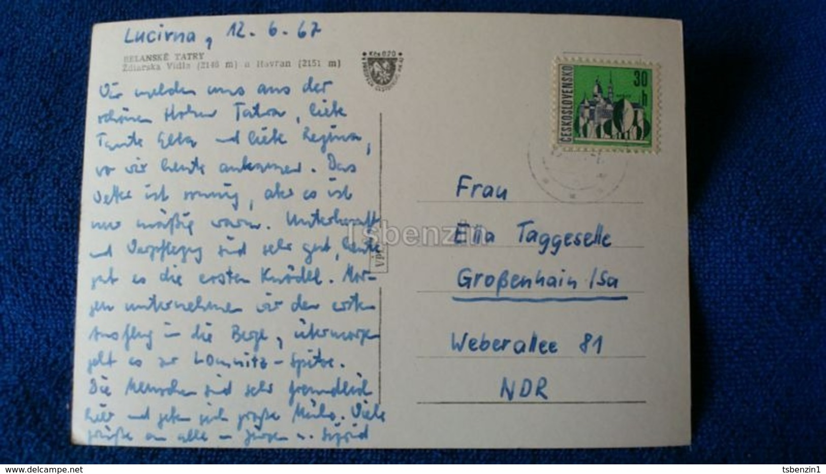 Belianske Tatry Zdiarska Vidla Slovakia - Slovacchia