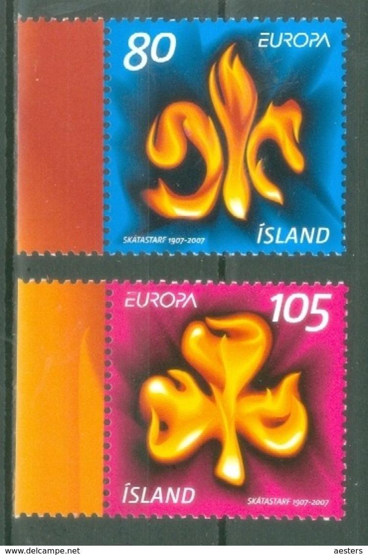 Iceland 2007; Europa Cept, Michel 1168-1169.** (MNH) - Europa-CEPT