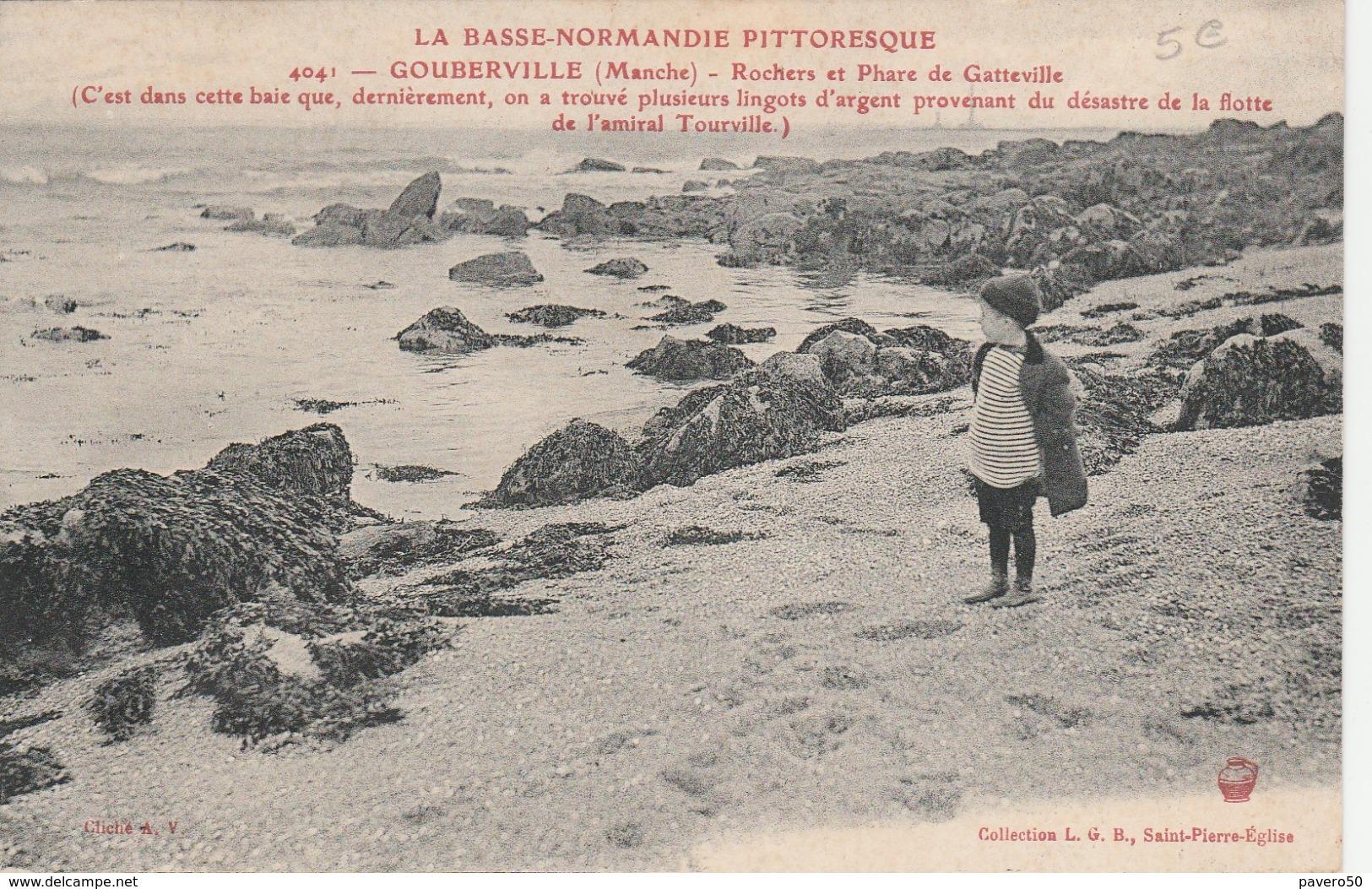 Gouberville ( Rochers Et Phare De Gatteville) - Andere Gemeenten