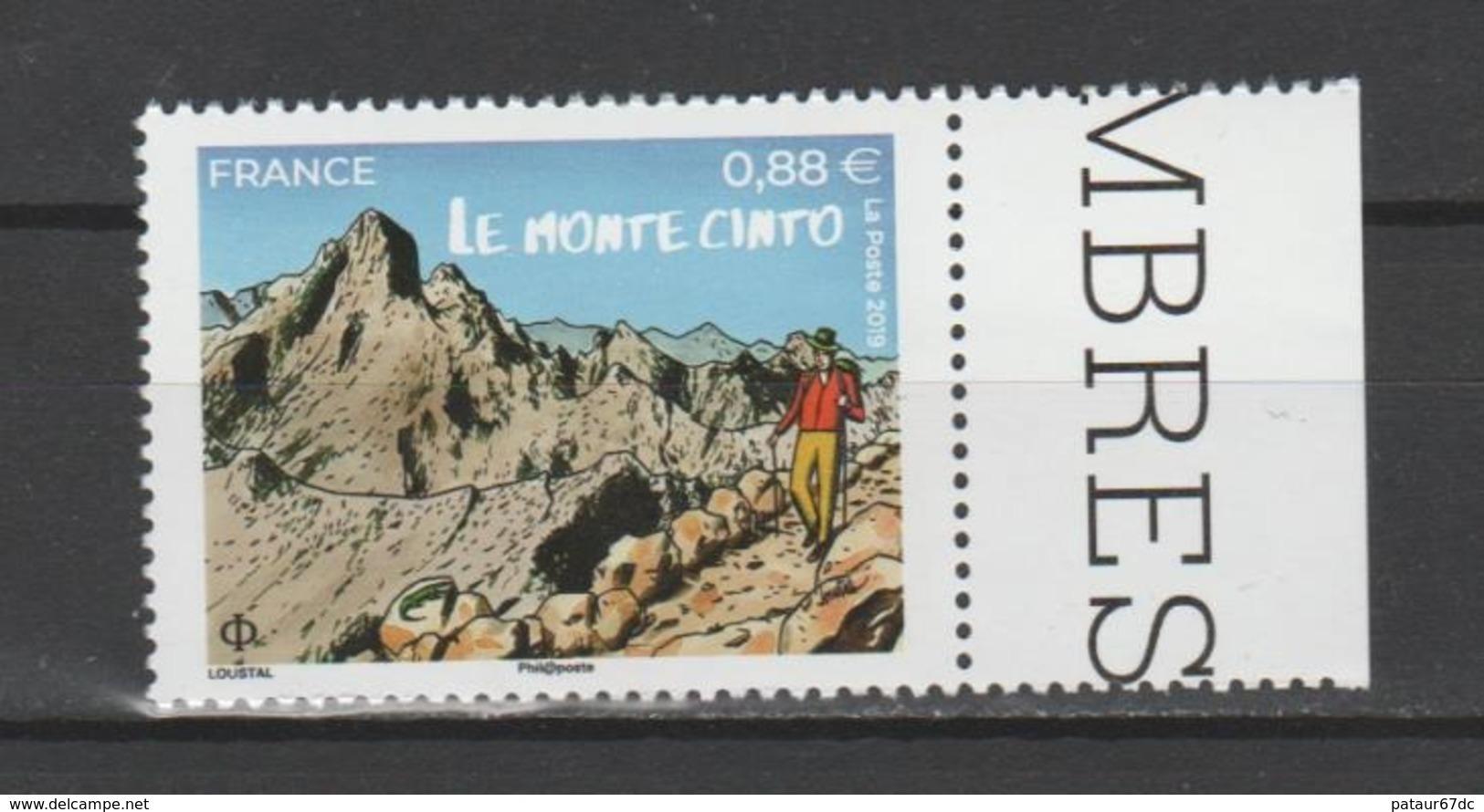 FRANCE / 2019 / Y&T N° 5343 ** : Monte Cinto (Corse) X 1 BdF D - France