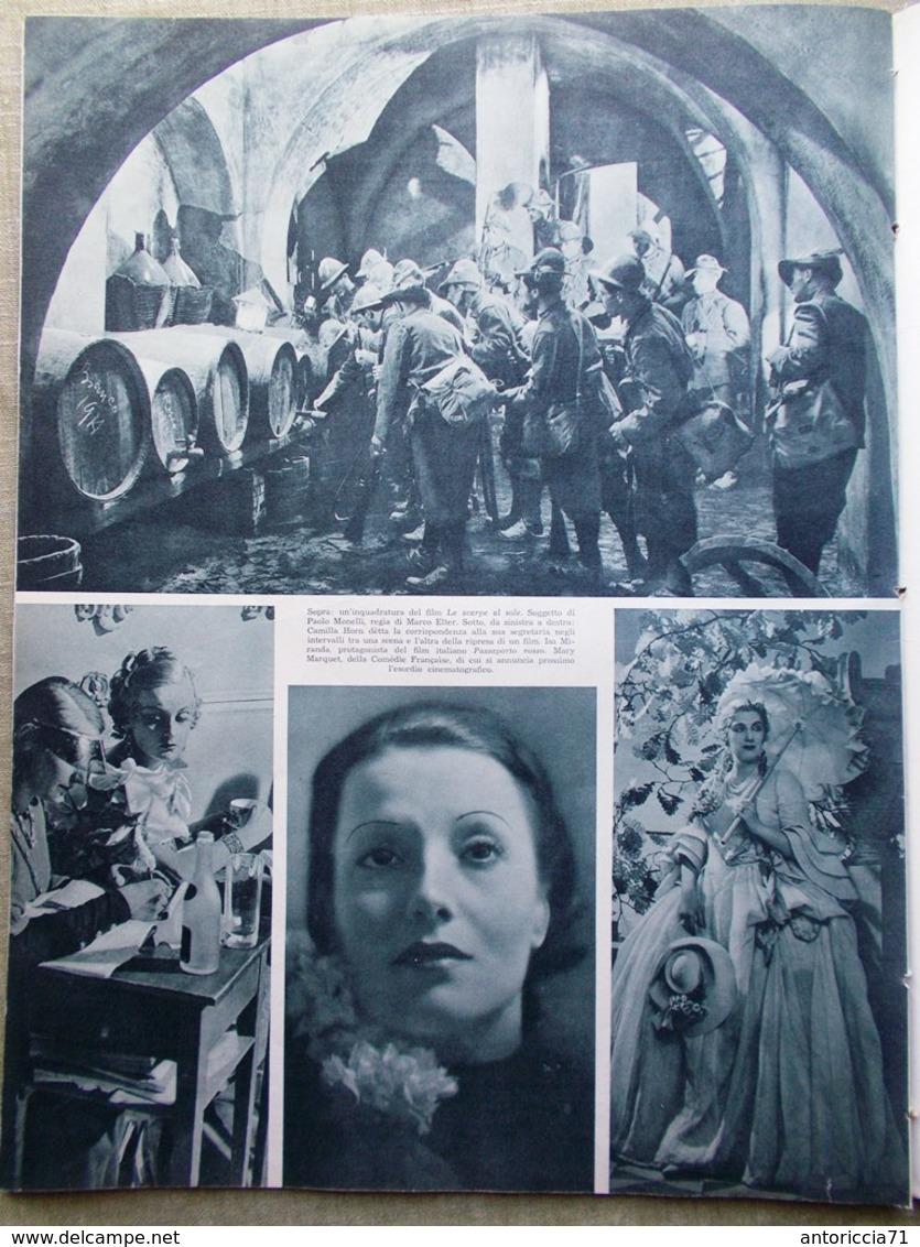 L'Illustrazione Italiana 16 Giugno 1935 Duce In Sardegna Istria Emigranti Ippica - Libri, Riviste, Fumetti