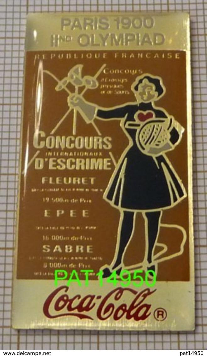 COCA JO PARIS 1900 En Version EPOXY STARPIN'S - Coca-Cola