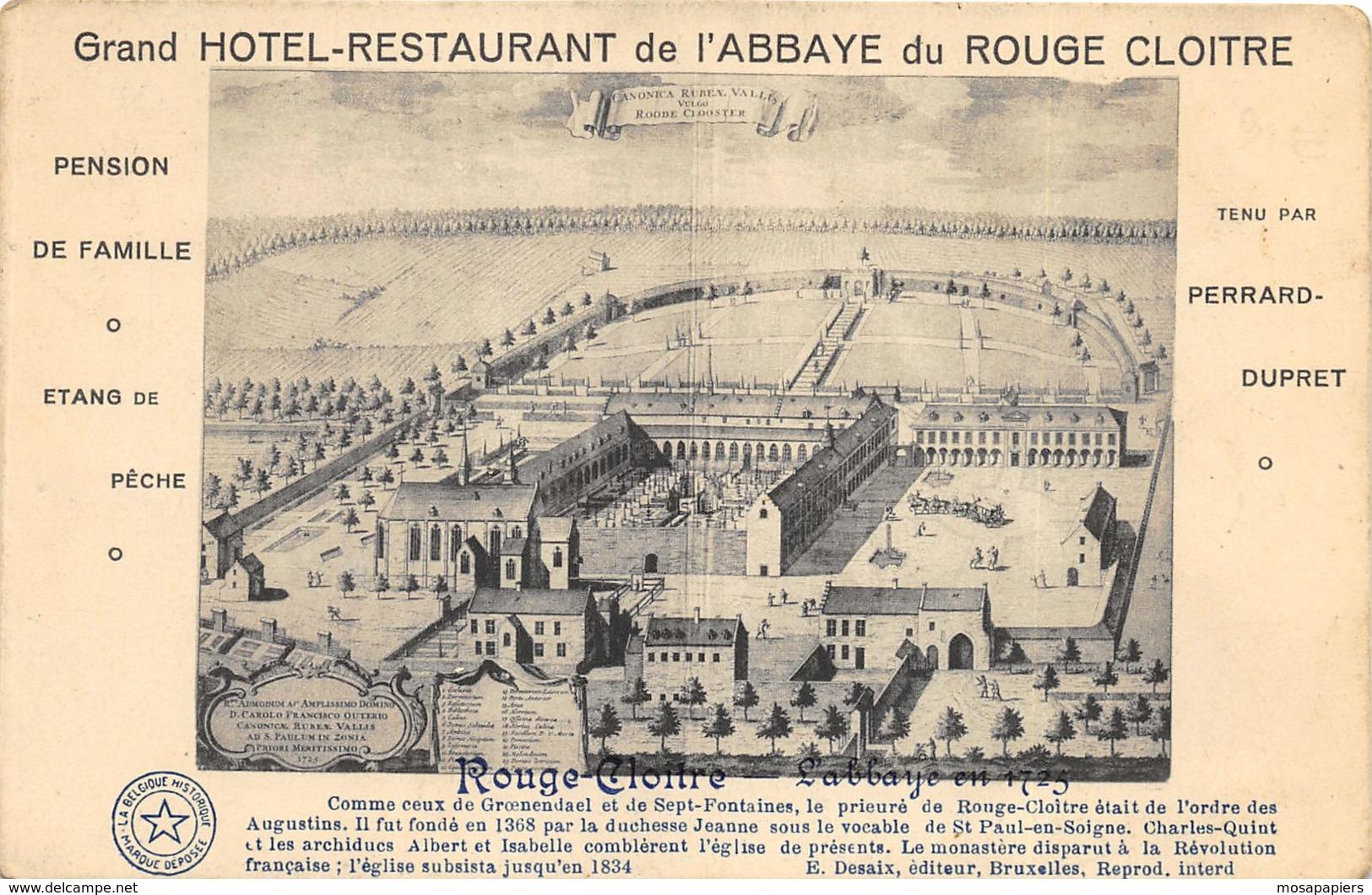 Grand Hôtel-Restaurant De L'Abbaye De Rouge-Cloître - Auderghem - Oudergem