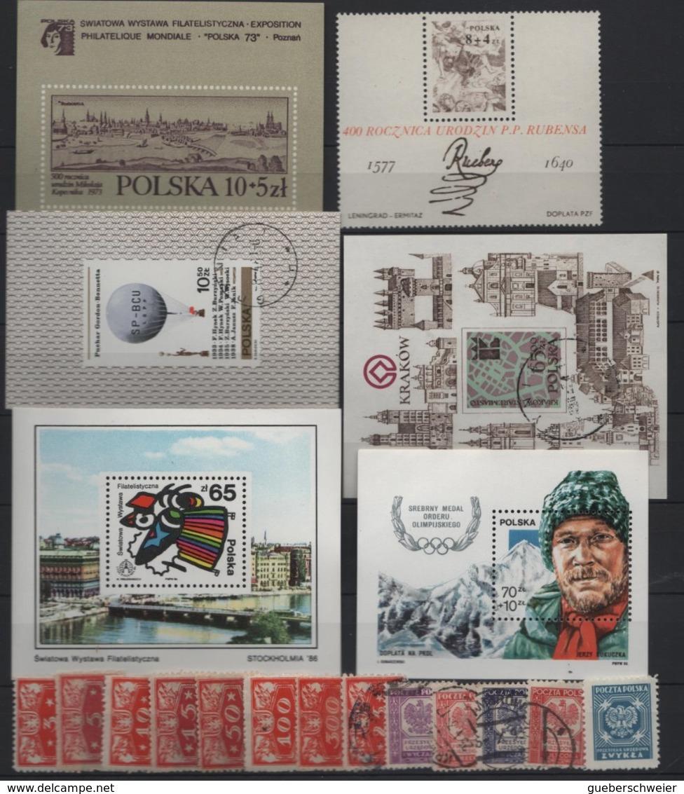 Belle Collection De POLOGNE Neufs**/* Et Obl.  Avec Non-dentelés Et Nombreuses Séries Complètes Forte Cote Dans Album - Hongrie