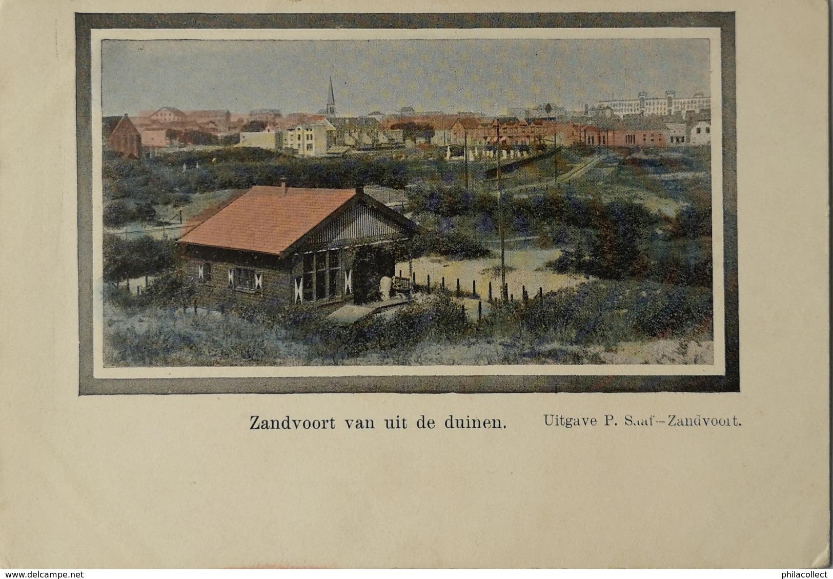Zandvoort // Van Uit De Duinen Gezien ( Kleur) Ca 1900 - Zandvoort