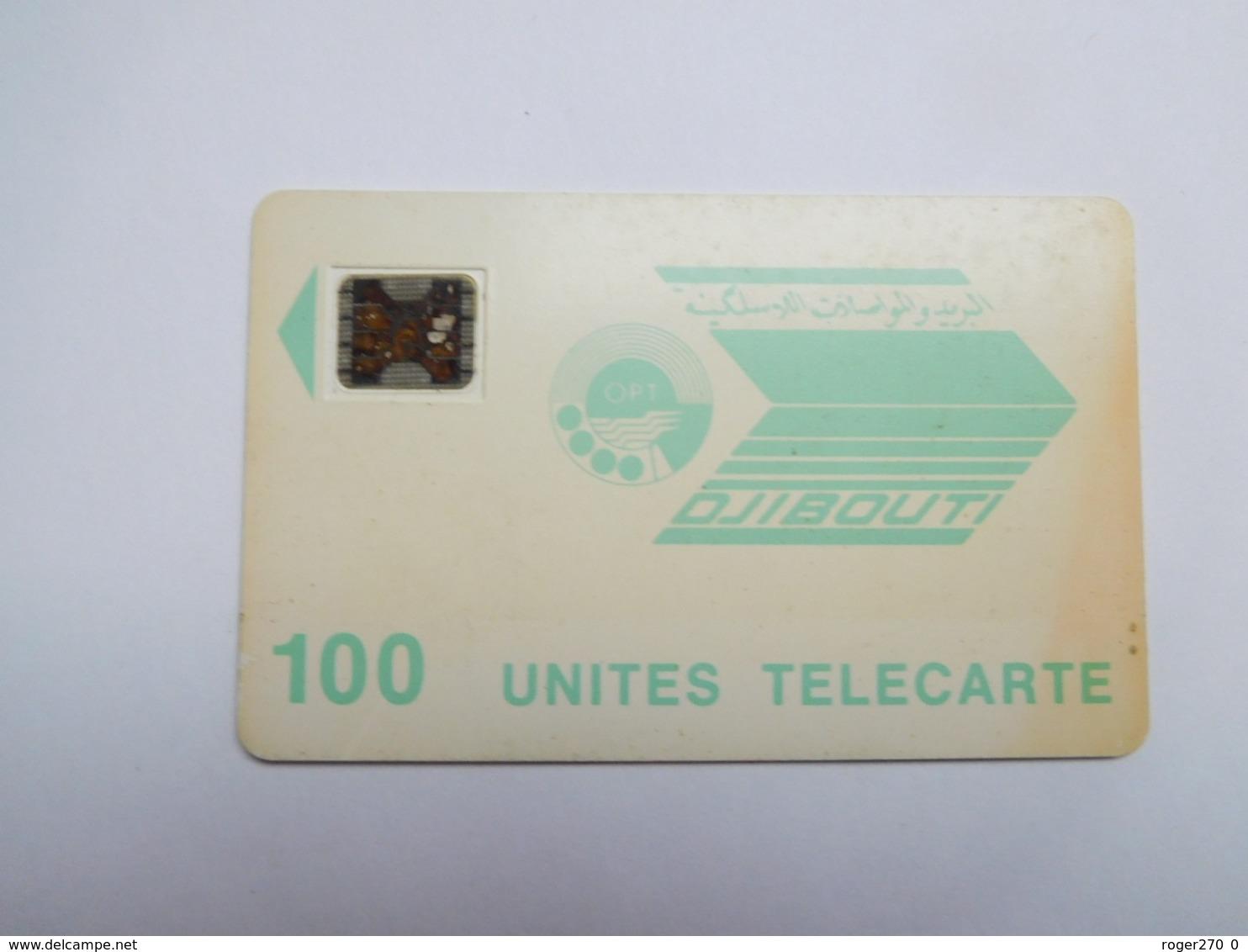 Télécarte Djibouti , 100 Unités - Dschibuti