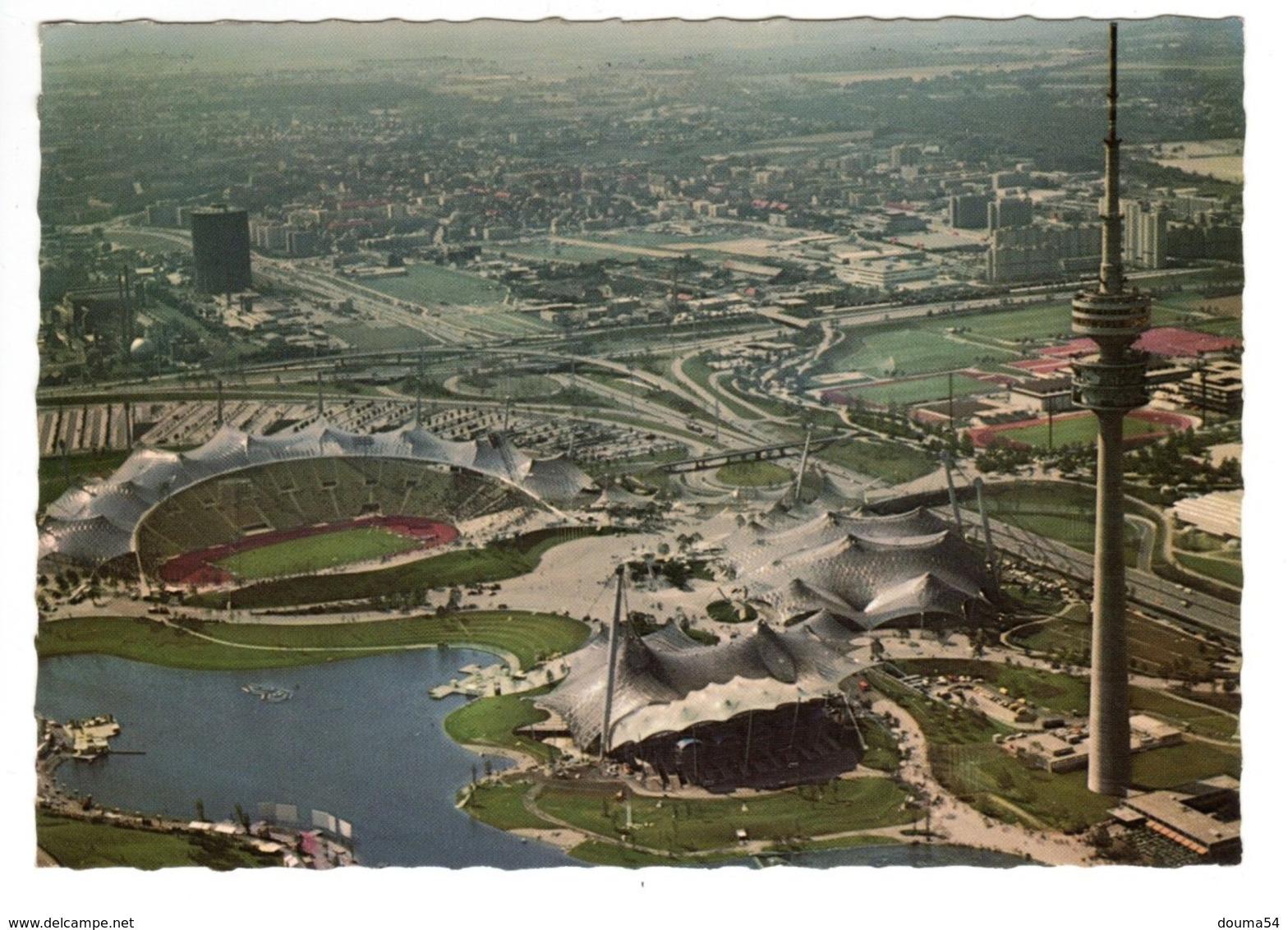 München Olympiapark - Munich Park Olympique - Olympische Spiele