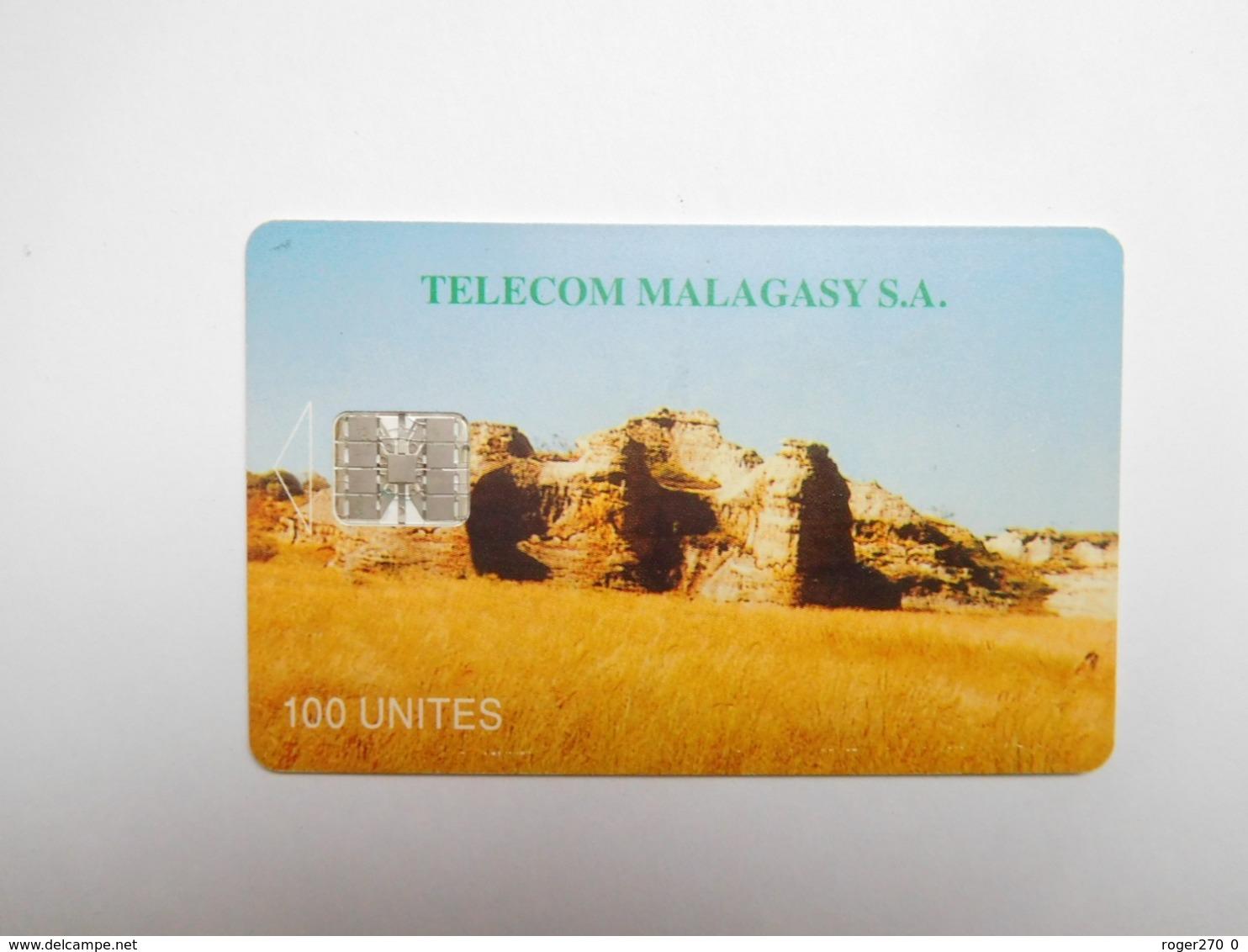 Télécarte Magagascar , Malagasy , Isalo - Madagascar