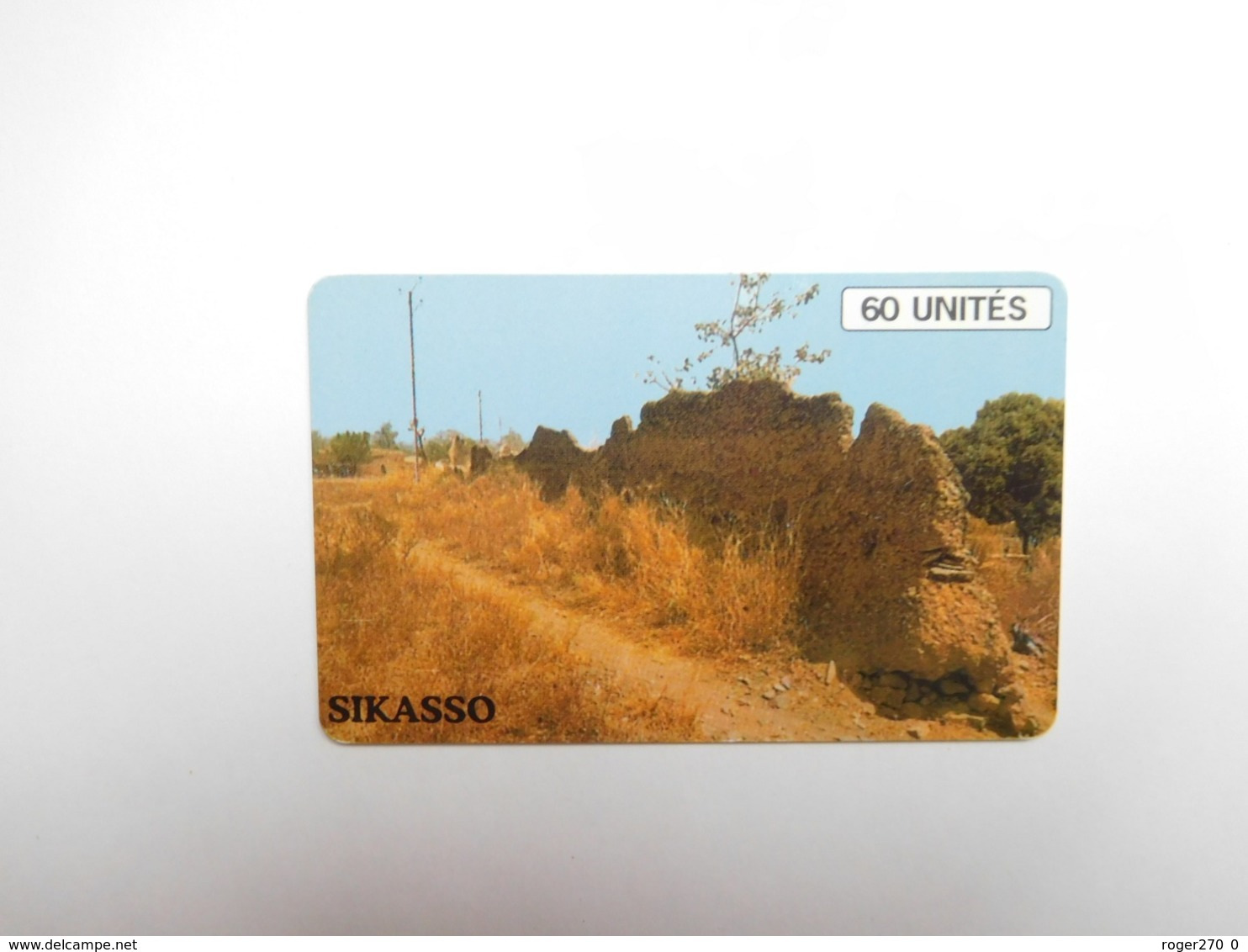Télécarte Mali , Sikasso , Afrique - Mali