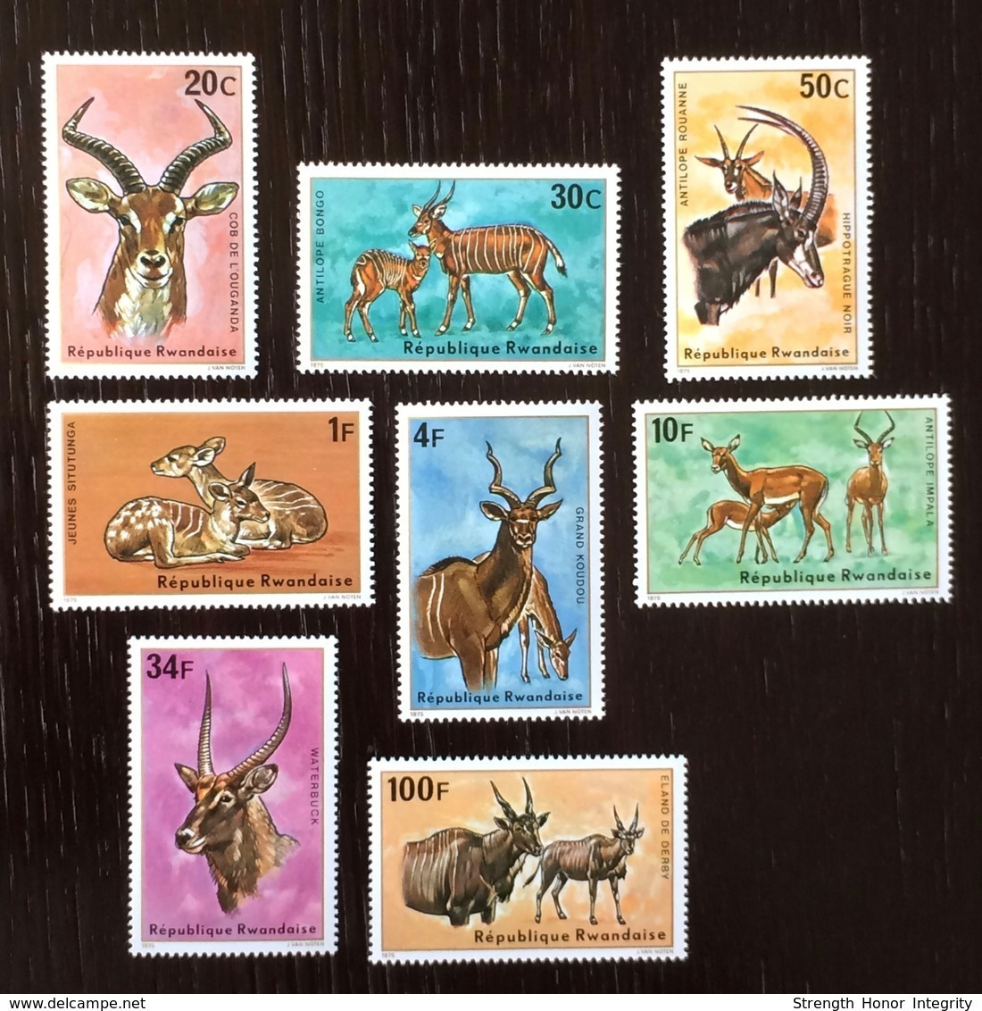 Rwanda 1975; Fauna Wild Animals; MNH / Neuf** / Postfrisch!! CV 18 Euro!! - Unclassified