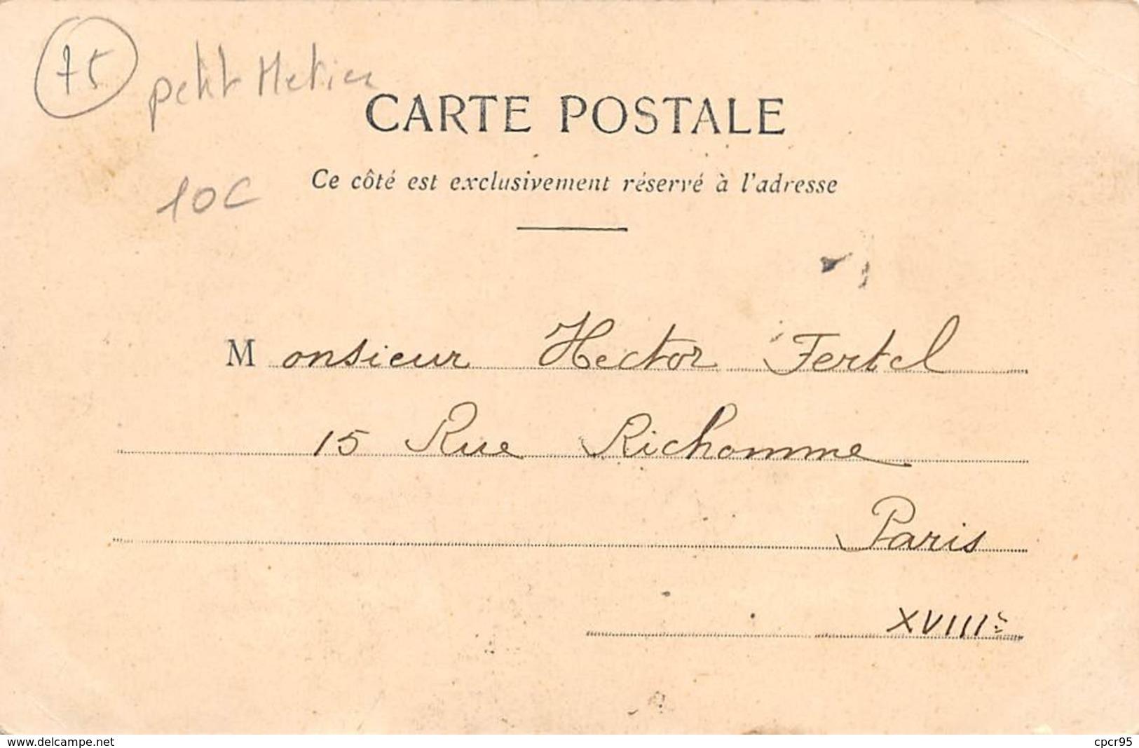 75. N° 103918 .paris .l Arroseur . - Petits Métiers à Paris