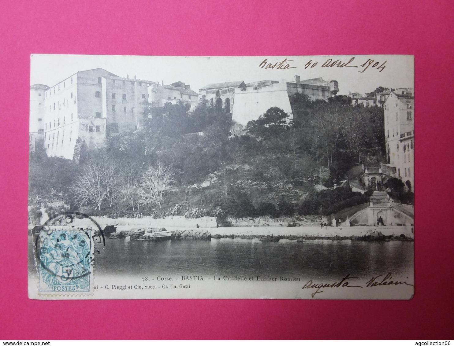 BASTIA-La Citadelle Et Escalier Romieu - Bastia