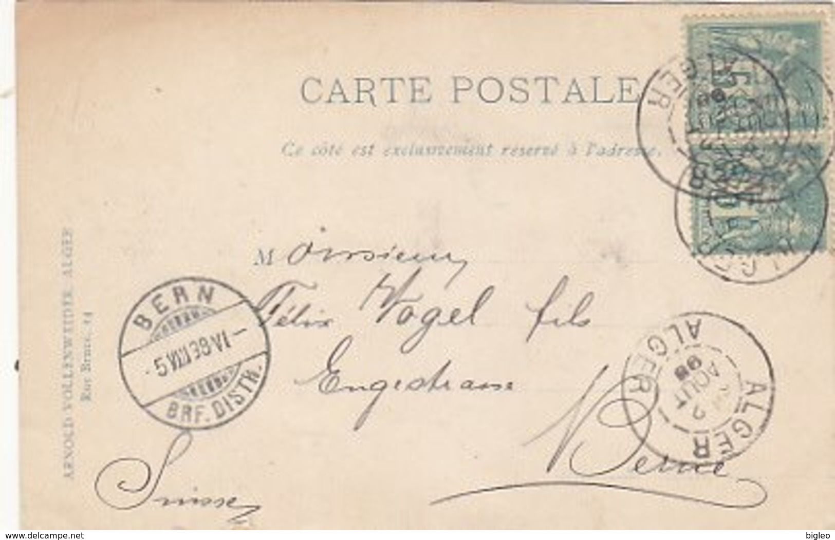 Dames De Harem - 1898          (A-114-170720) - Algeri