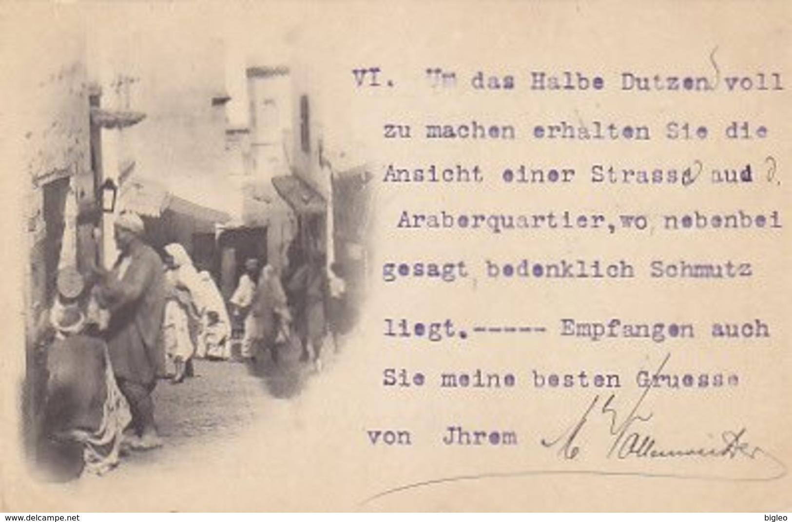 Alger - Quartier Arabe - 1898          (A-114-170720) - Algeri