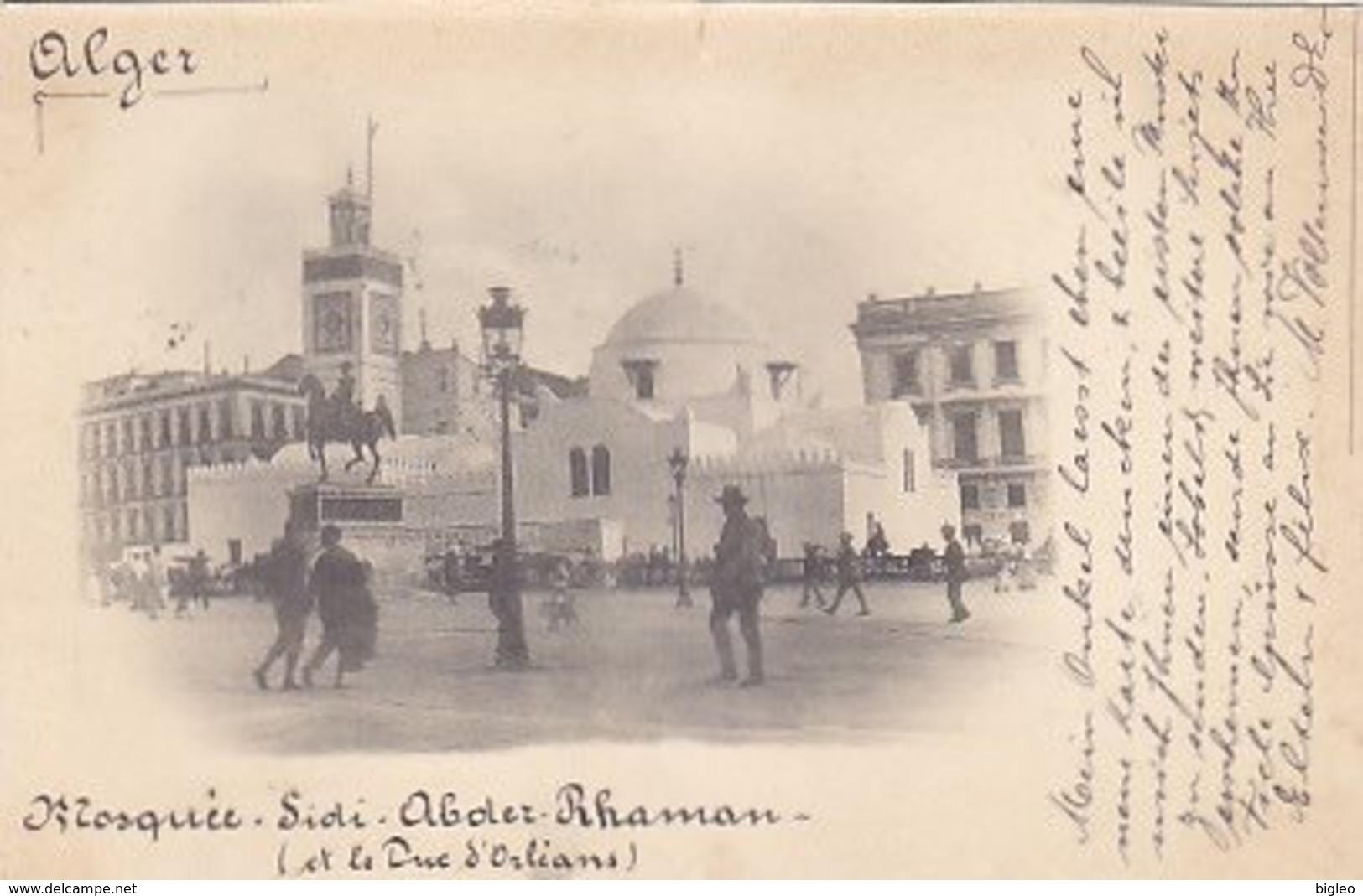 Alger - Mosque  Sidi-Abder-Rhaman - 1898          (A-114-170720) - Algeri