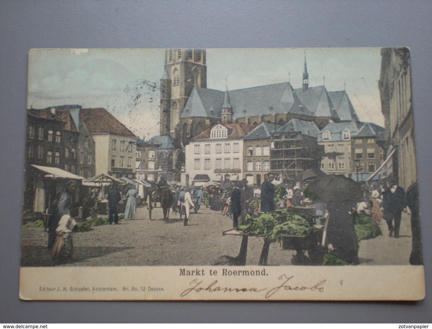 ROERMOND - MARKT 1903 - Roermond