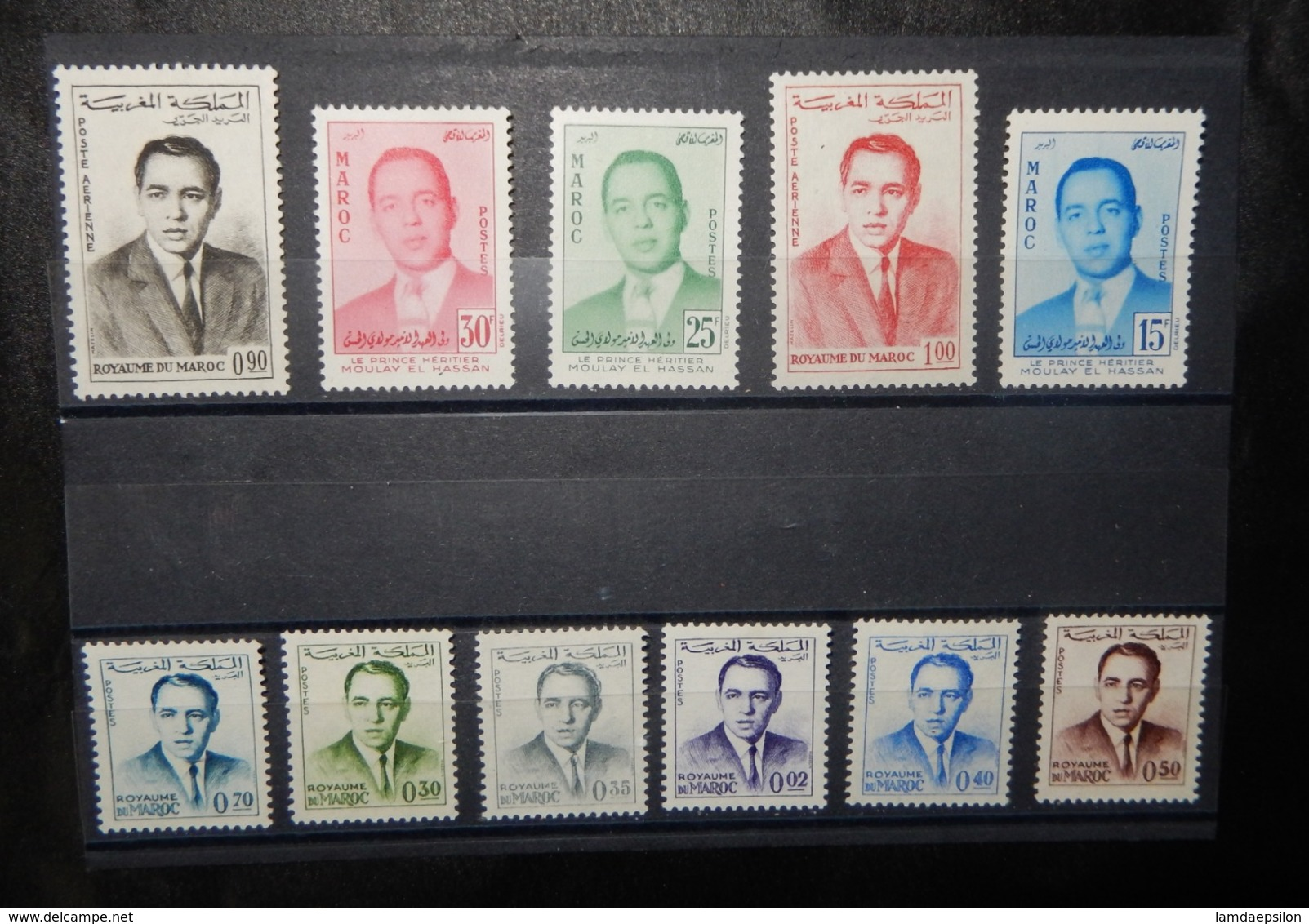 A142 MOROCCO LOT OF 11 DIFFERENT STAMPS - Morocco (1956-...)