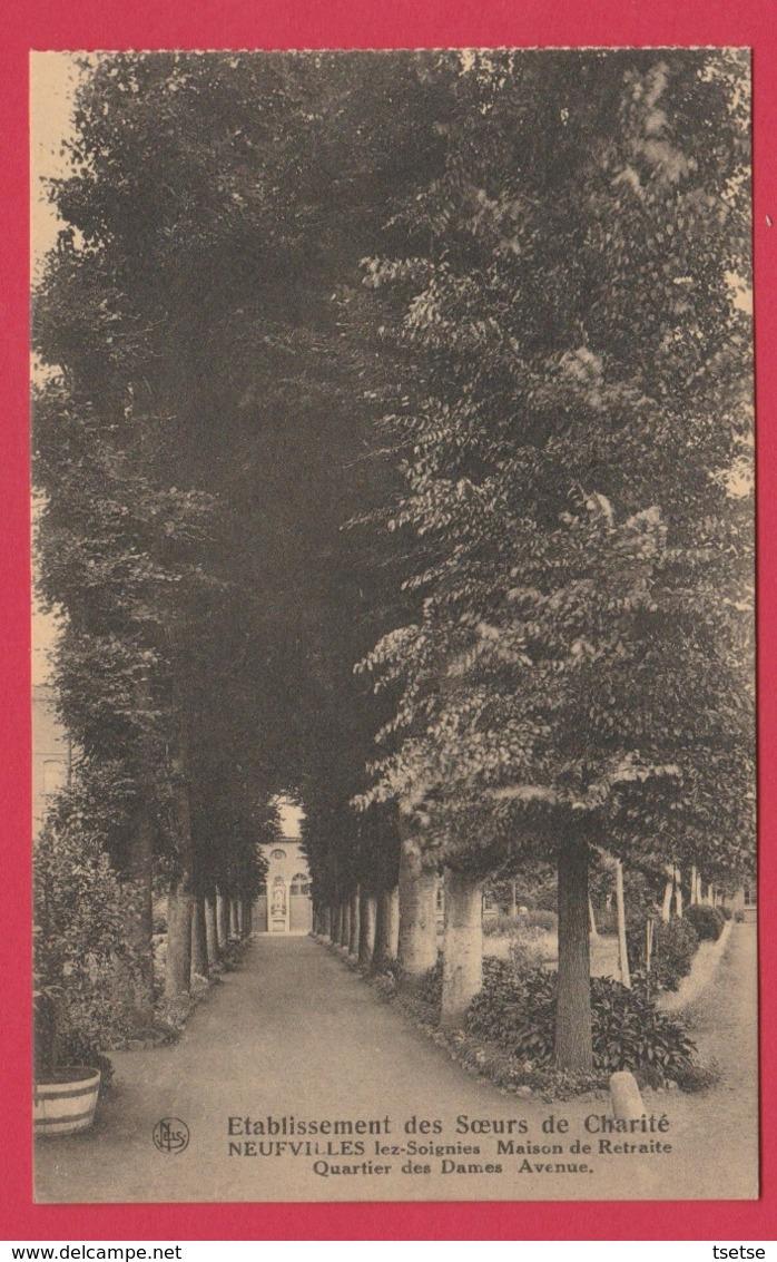 Neufvilles-lez-Soignies - Etablissement Des Soeurs De Charité - Quartier Des Dames-Avenue ( Voir Verso ) - Soignies
