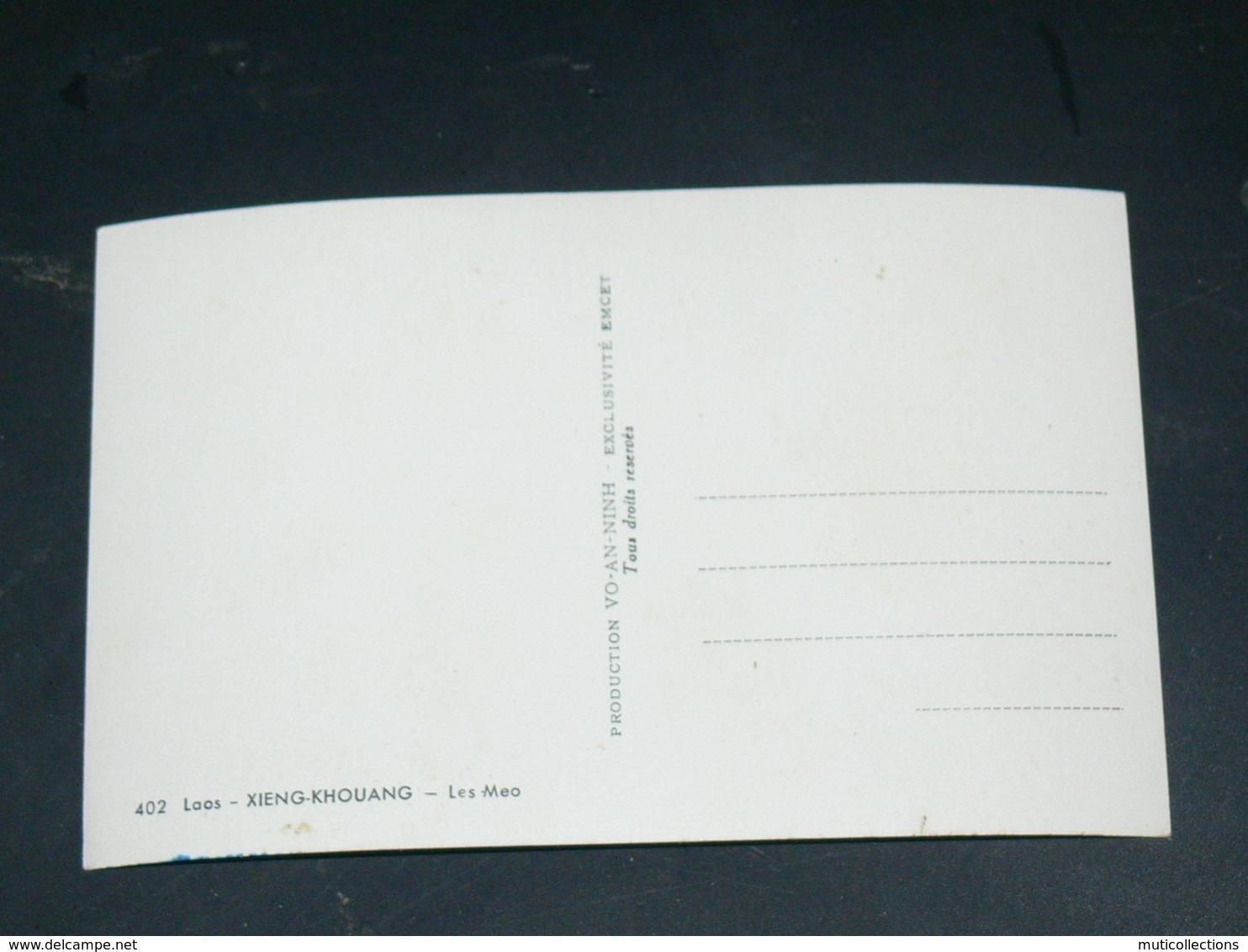 LAOS 1950  / INDOCHINE TONKIN / XIENG  KHOUANG  /  PHOSAVAN  / TYPE LES MEO / EDITION - Laos