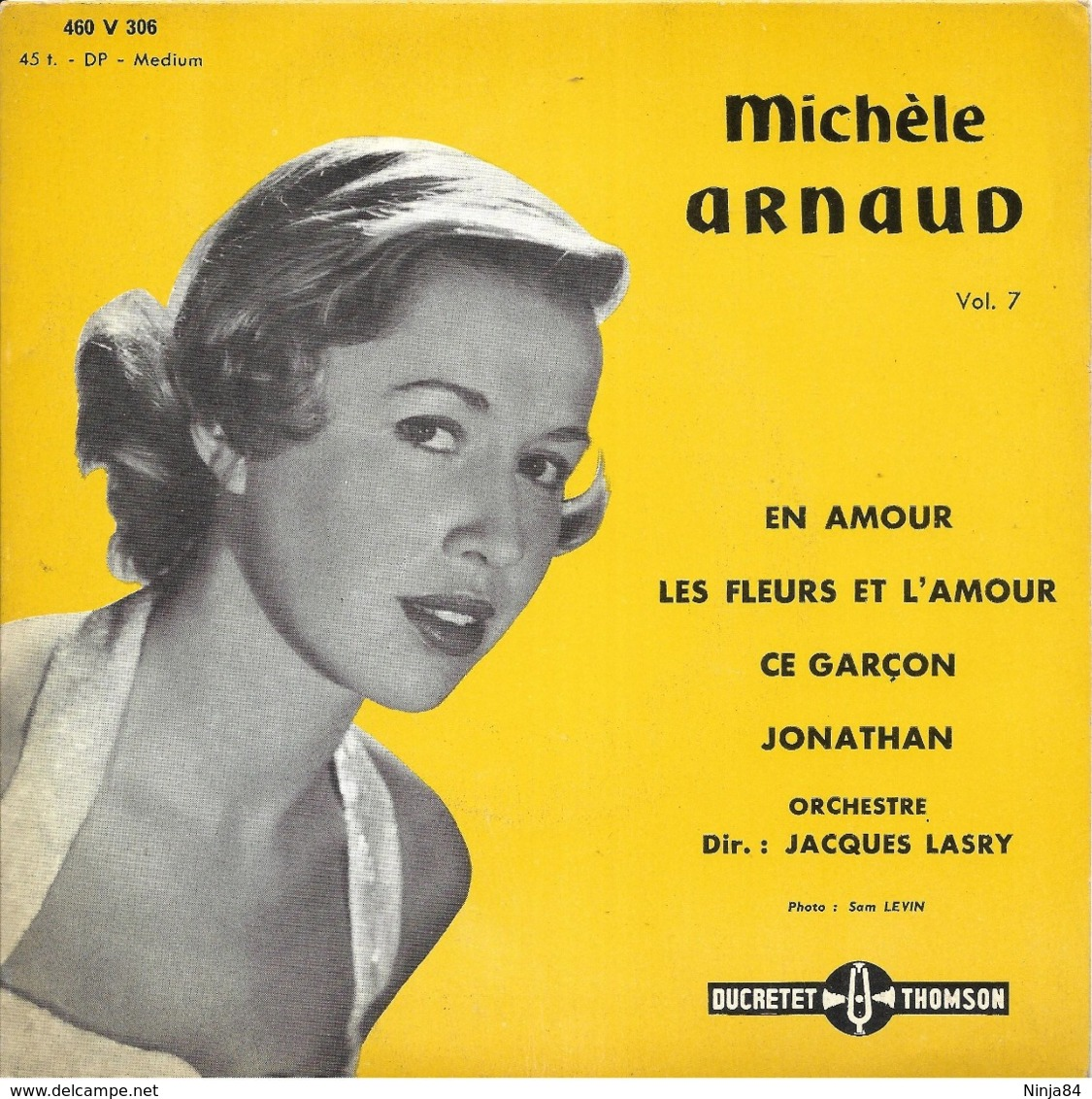 "Michèle Arnaud  ""  En Amour  "" - Vinyles"