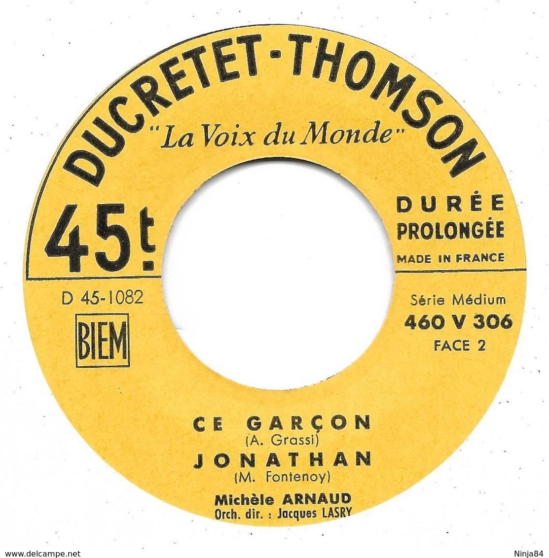 """EP 45 RPM (7"""")  Michèle Arnaud  """"  En Amour  """" - Vinyles"""