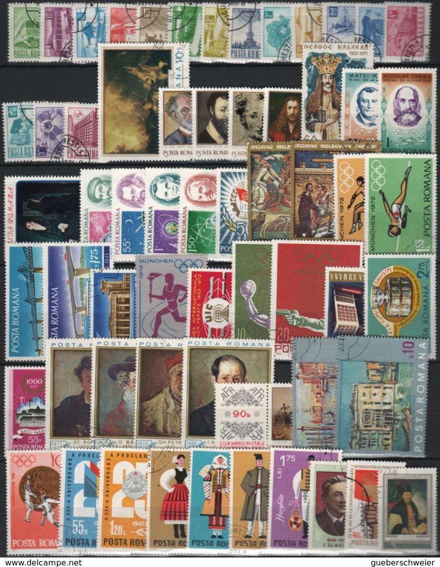 Collection ROUMANIE Neufs**/* Et Obl. Nombreuses Séries Complètes Et Non-dentelés Forte Côte - Collections
