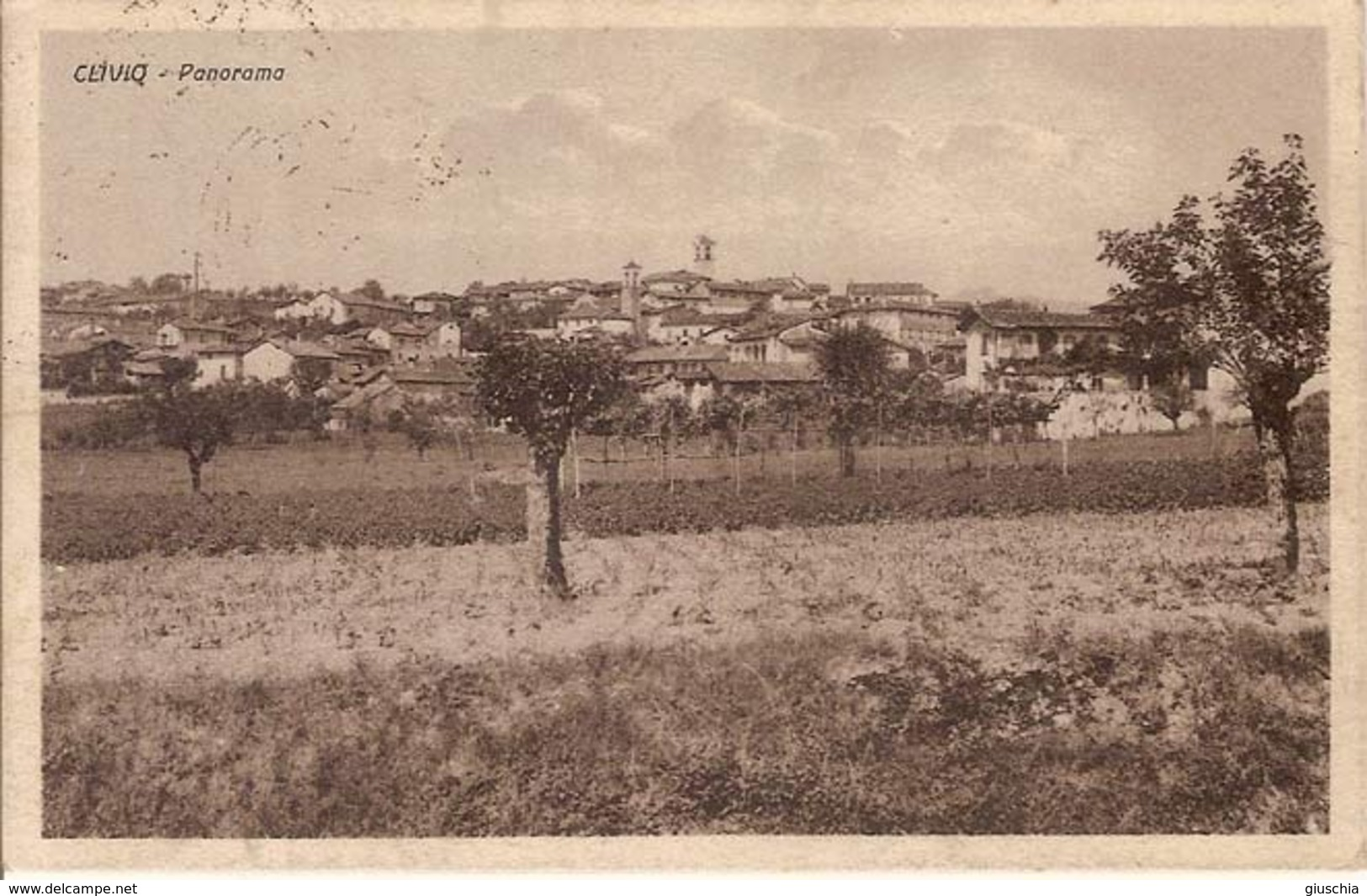 (C).Clivio(VA).Panorama.F.to Piccolo.Viaggiata (c16) - Varese