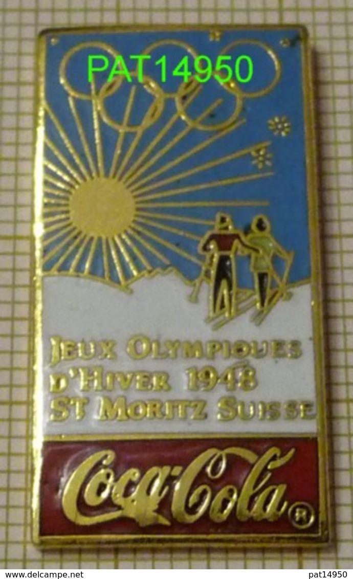 COCA  JO St MORITZ 1948   En Version EGF  IOC 87 ARTISS REGINA - Coca-Cola