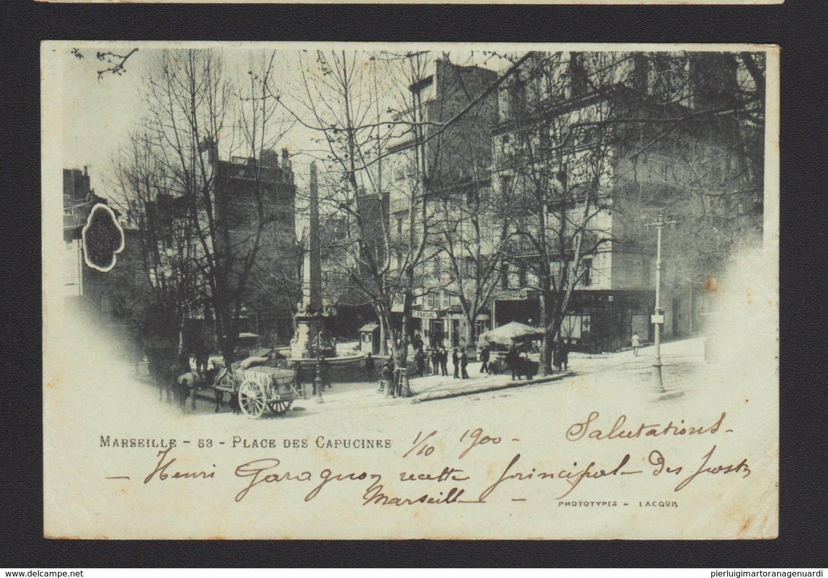 18104 Marsiglia - Place Des Capucines F - Marsiglia