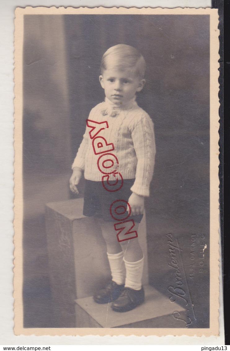 Au Plus Rapide Portrait Enfant Photographe L Bontemps Bolbec Beau Format 9 Par 14 Cm - Personnes Identifiées