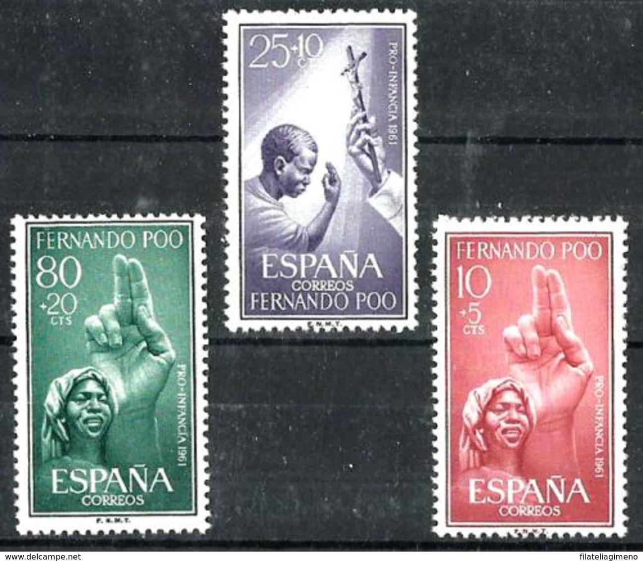 Fernando Poo Nº 196/98 En Nuevo - Fernando Po