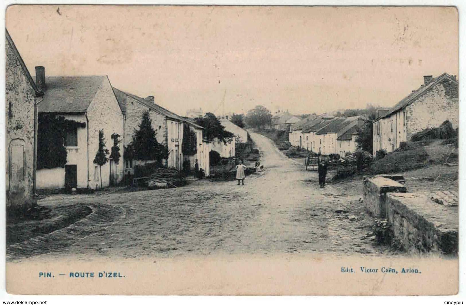 Chiny - PIN - Rue D'Izel  - Ed Victor Caën - Chiny