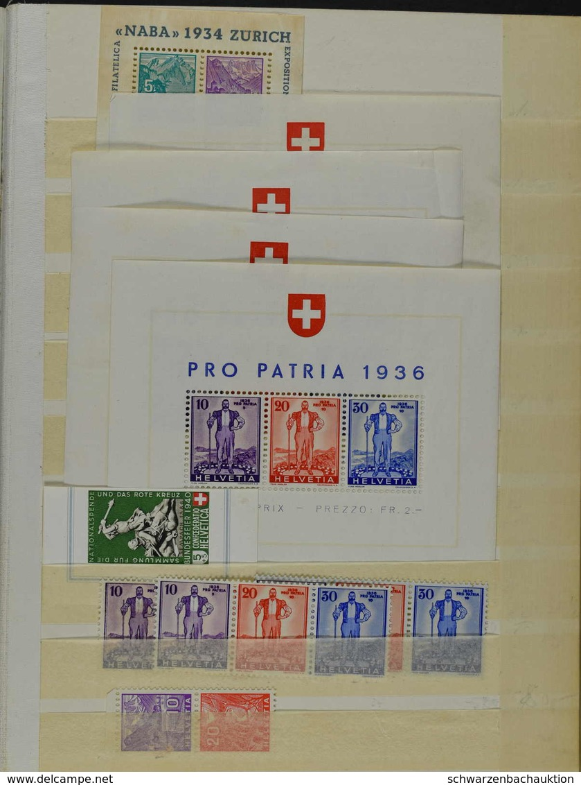 Schweiz - Airmail