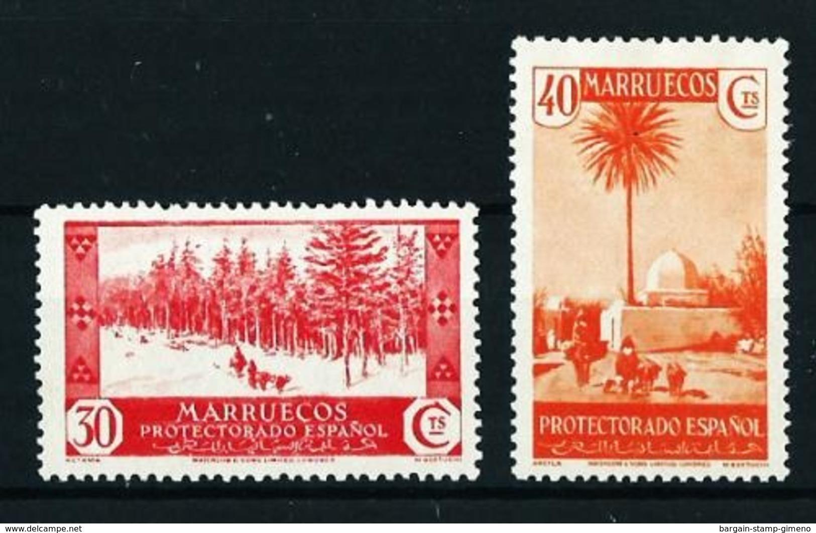 Marruecos (Español) Nº 153-155 Nuevo* Cat.34,50€ - Spanish Morocco