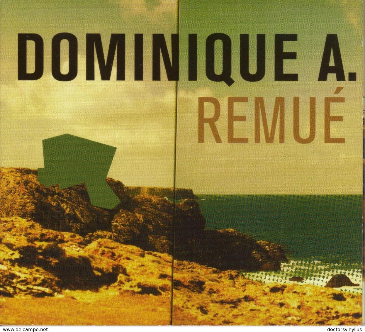 "DOMINIQUE A ""REMUE"" - DIGIPACK - Sonstige - Franz. Chansons"