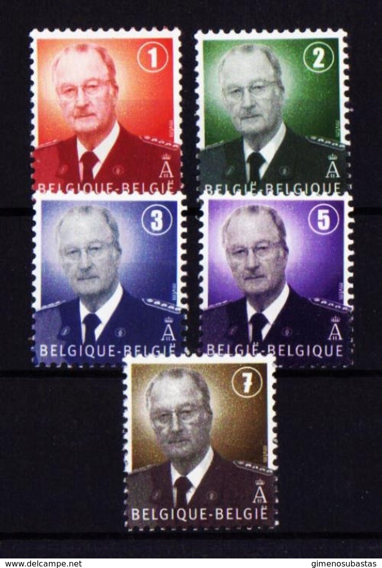 Bélgica 3667/71 Nuevo - Bélgica