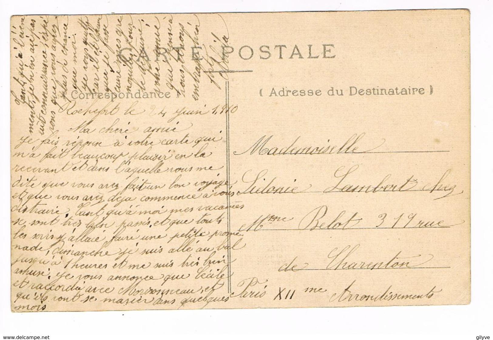 CPA (17) ROCHEFORT. Hôpital Saint Charles.. (E.713) - Rochefort