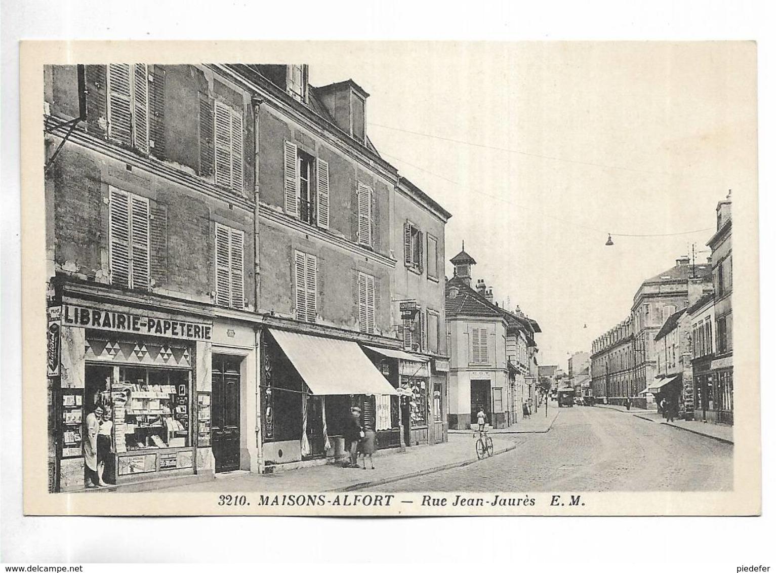 94 - MAISONS-ALFORT- Rue Jean-Jaurès - Maisons Alfort