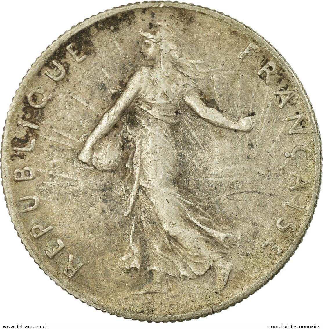 Monnaie, France, Semeuse, 50 Centimes, 1898, Paris, TB+, Argent, Gadoury:420 - France