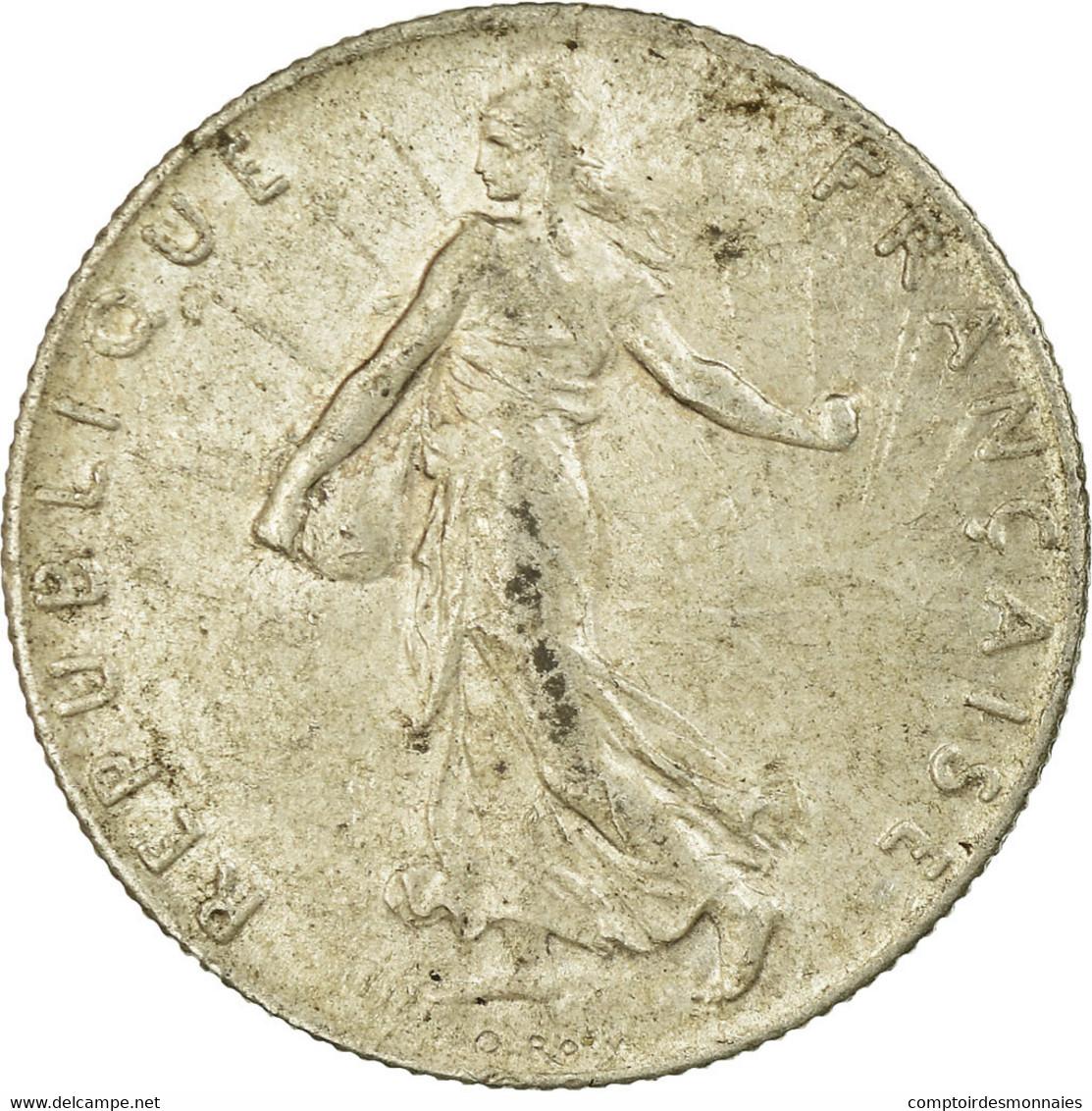 Monnaie, France, Semeuse, 50 Centimes, 1899, Paris, TB+, Argent, Gadoury:420 - G. 50 Centimes
