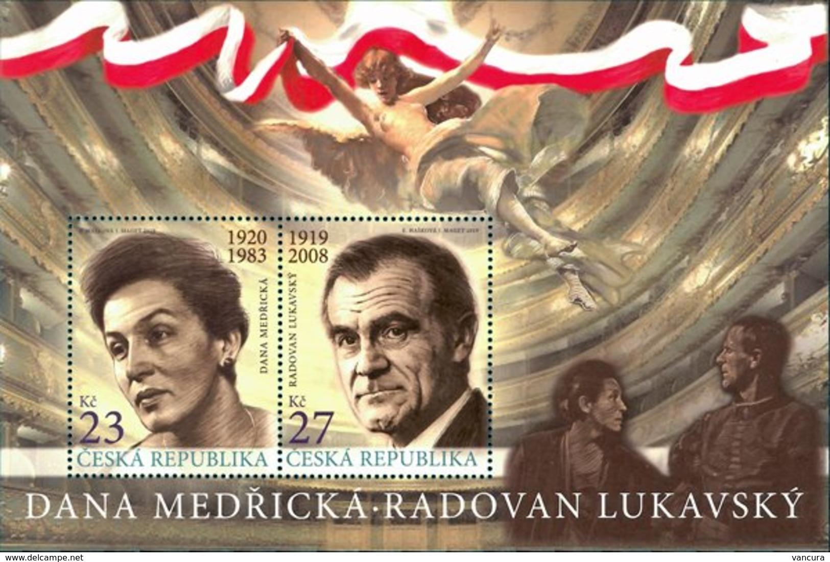 ** A 1049 - 1050 Czech Republic D. Medricka And R. Lukavsky 2019 - Ungebraucht