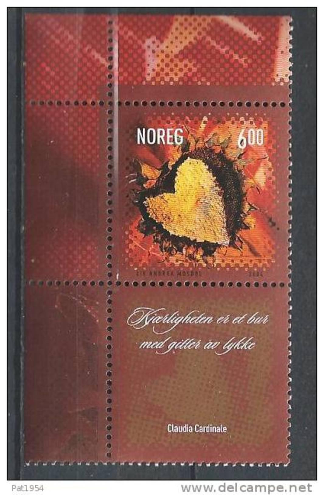 Norvège,  2004  N°1439  Neuf**,Saint Valentin - Norvegia
